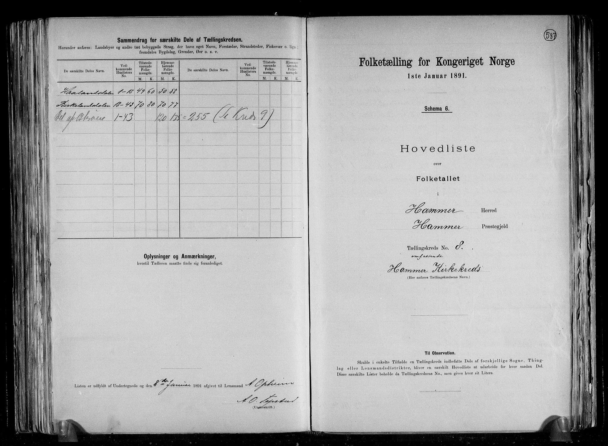 RA, Folketelling 1891 for 1254 Hamre herred, 1891, s. 21