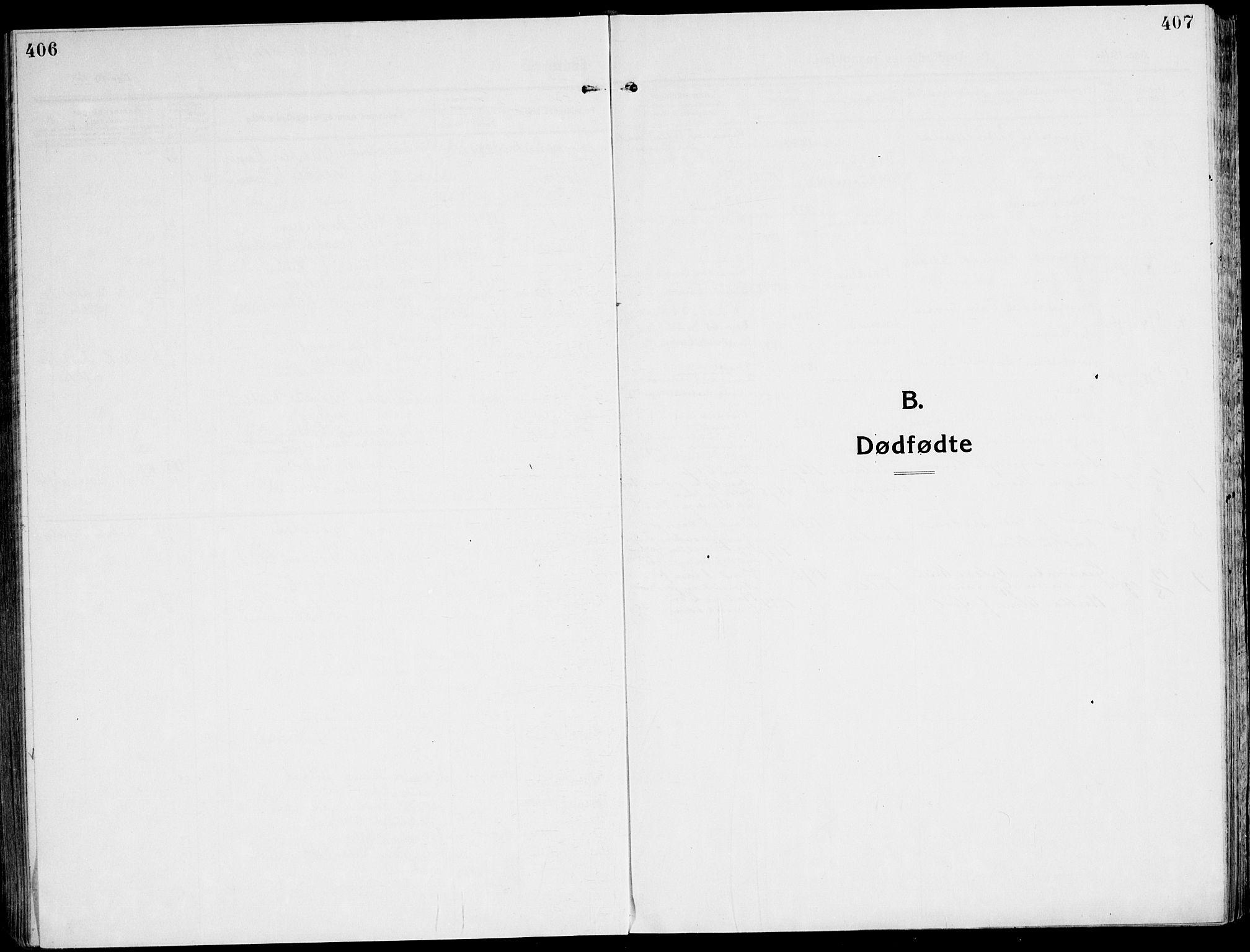 SAT, Ministerialprotokoller, klokkerbøker og fødselsregistre - Sør-Trøndelag, 607/L0321: Ministerialbok nr. 607A05, 1916-1935, s. 406-407