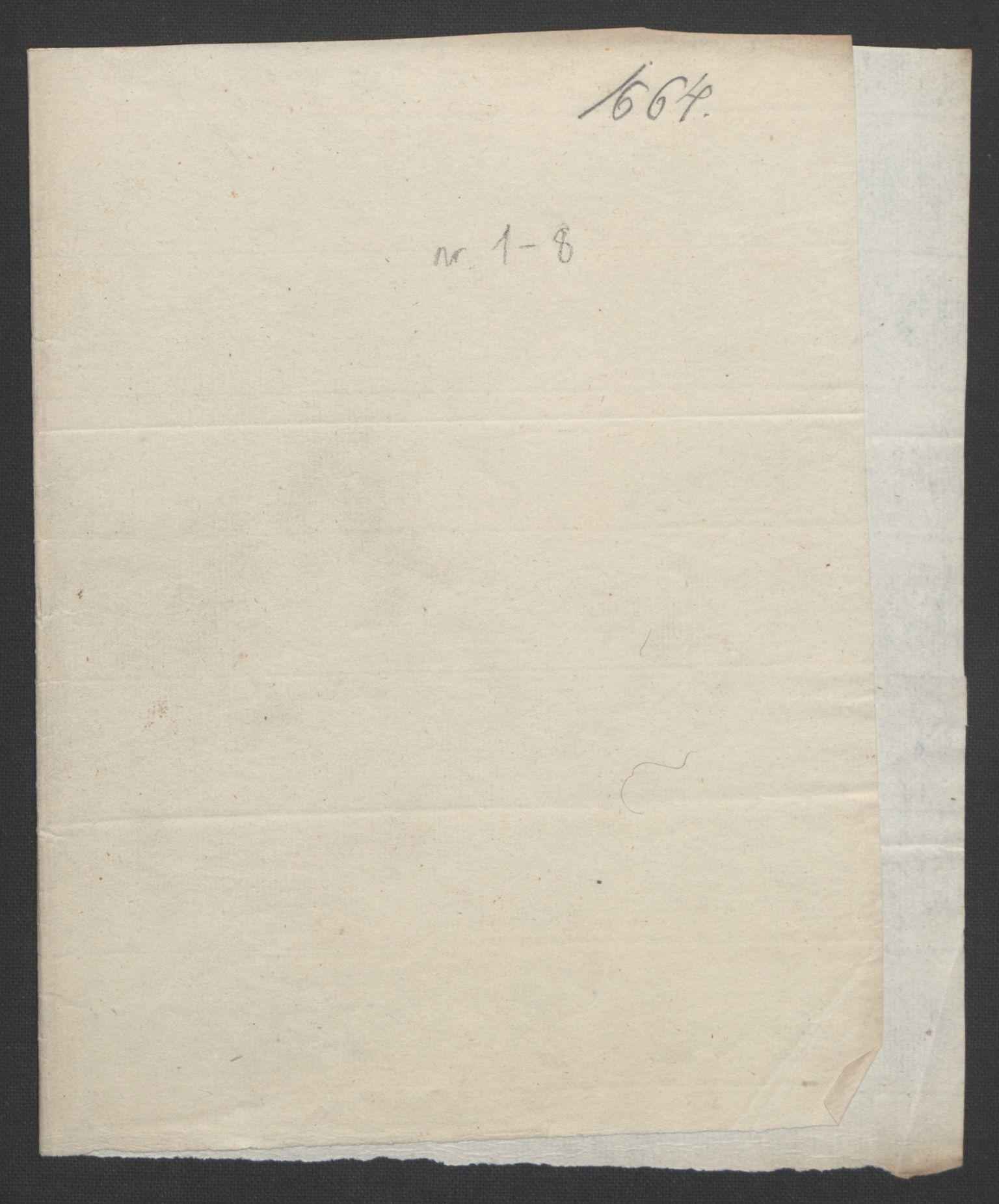 RA, Rentekammeret inntil 1814, Reviderte regnskaper, Fogderegnskap, R32/L1842: Fogderegnskap Jarlsberg grevskap, 1664-1673, s. 3