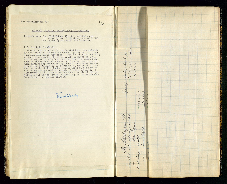 SAST, PA 1516 - Nor Hotellkompani A/S, A/L0001: Referatprotokoll, 1948-1855, s. 35