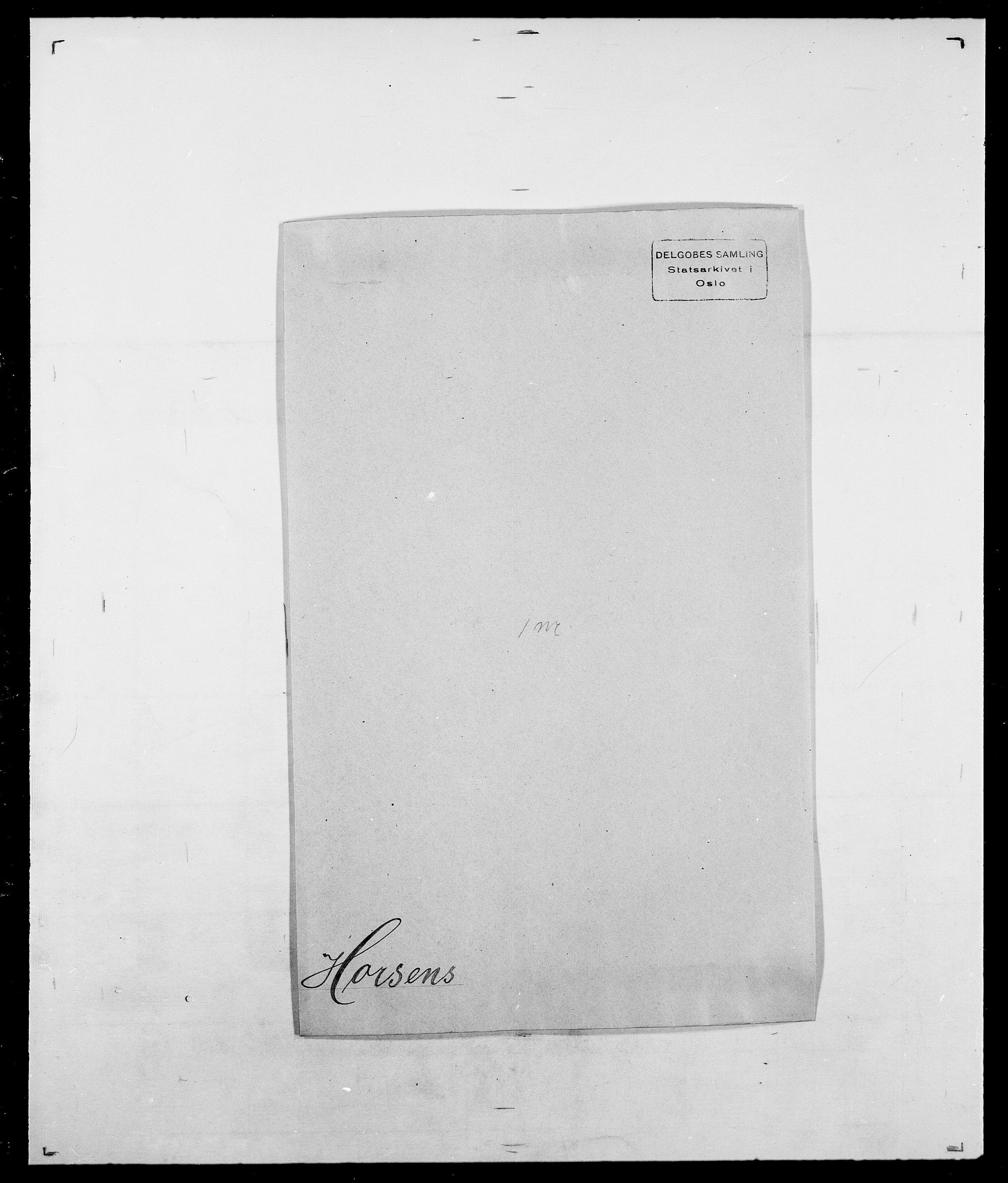 SAO, Delgobe, Charles Antoine - samling, D/Da/L0018: Hoch - Howert, s. 980