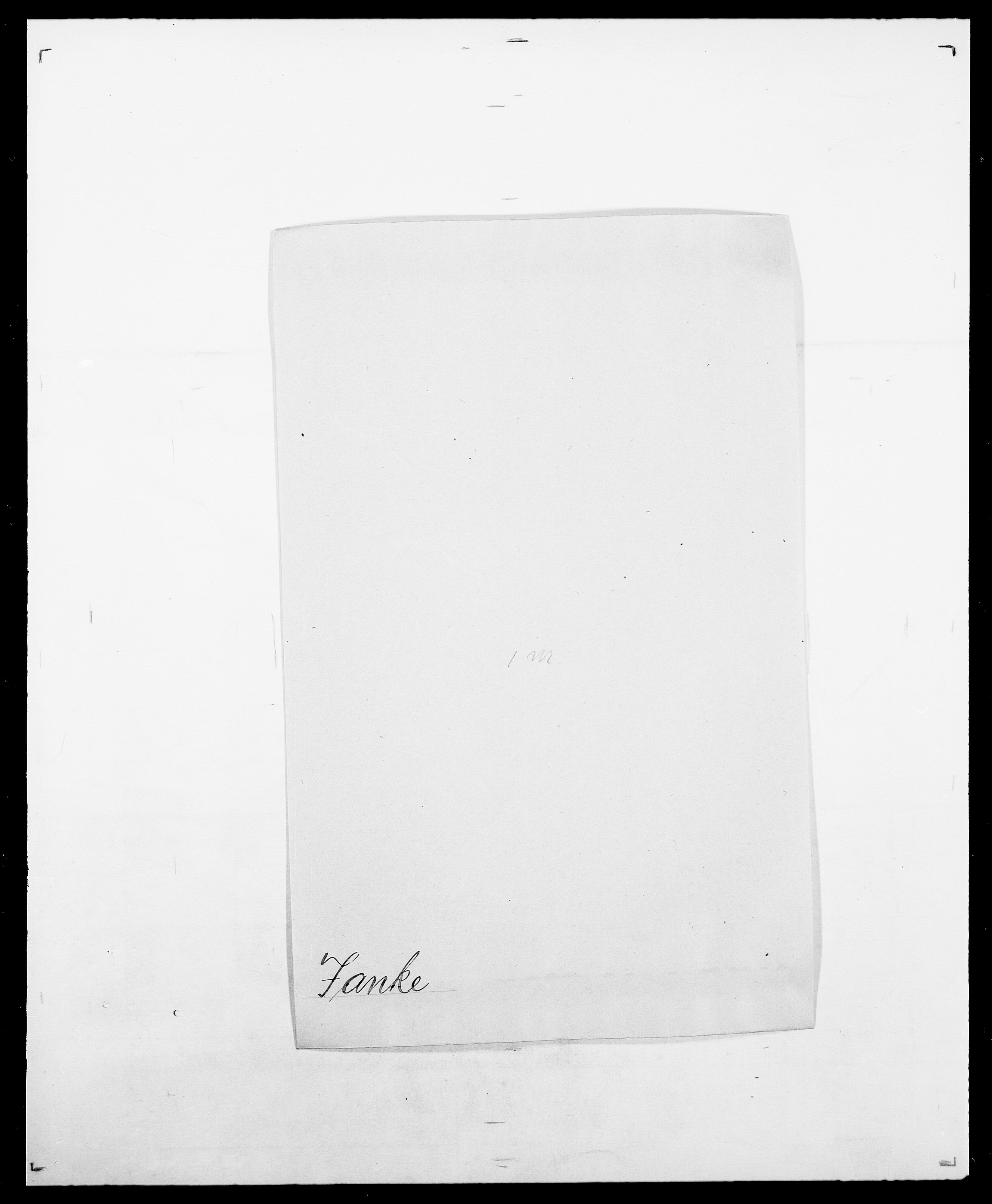 SAO, Delgobe, Charles Antoine - samling, D/Da/L0019: van der Hude - Joys, s. 540