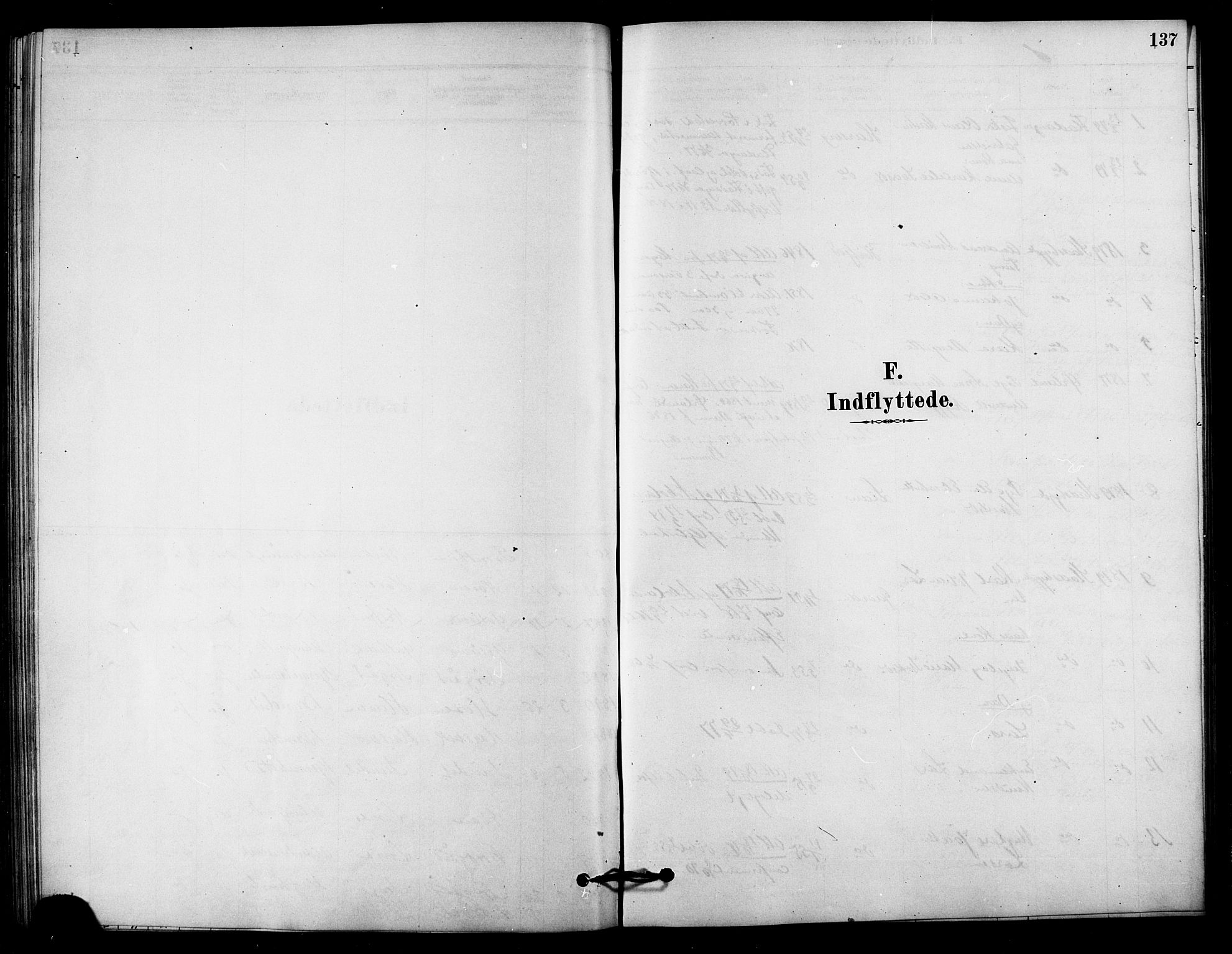 SAT, Ministerialprotokoller, klokkerbøker og fødselsregistre - Sør-Trøndelag, 656/L0692: Ministerialbok nr. 656A01, 1879-1893, s. 137