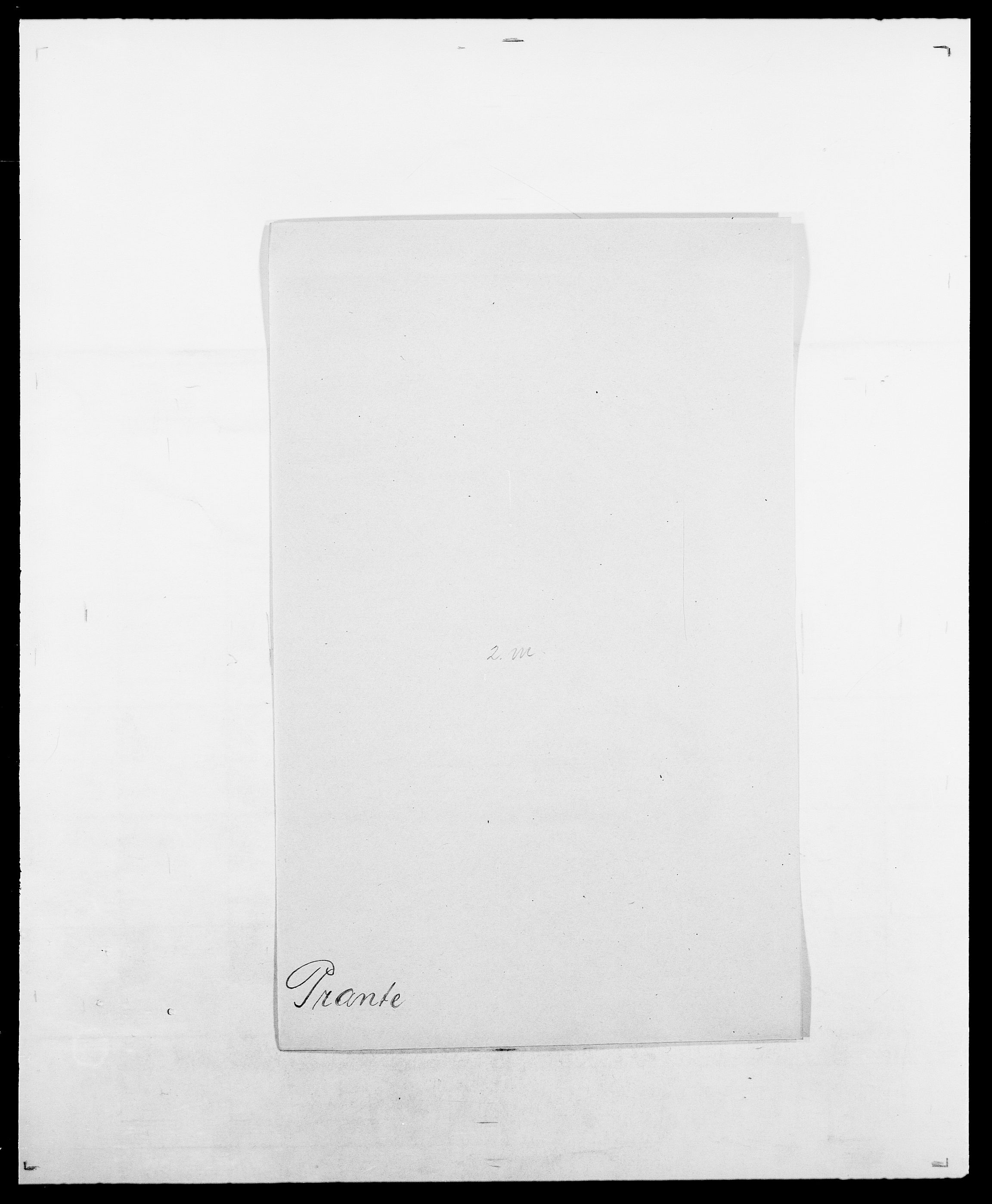 SAO, Delgobe, Charles Antoine - samling, D/Da/L0031: de Place - Raaum, s. 296
