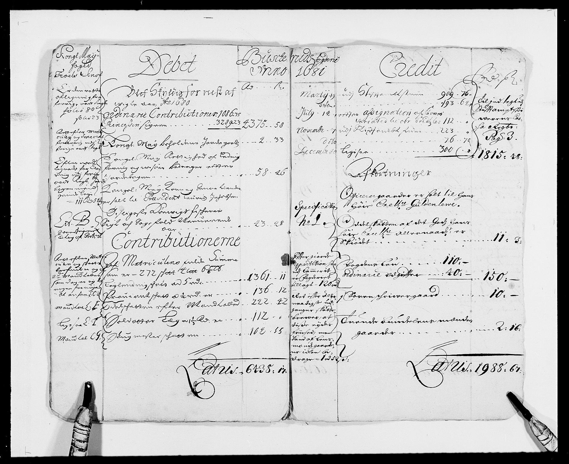 RA, Rentekammeret inntil 1814, Reviderte regnskaper, Fogderegnskap, R25/L1674: Fogderegnskap Buskerud, 1678-1681, s. 14
