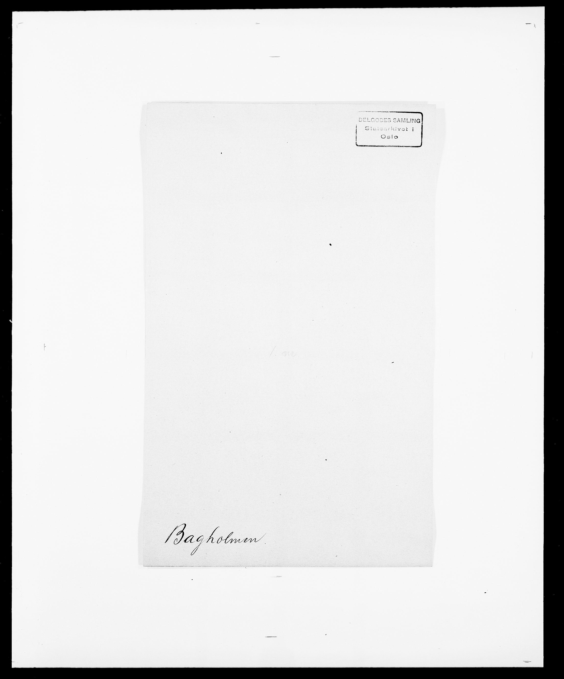 SAO, Delgobe, Charles Antoine - samling, D/Da/L0003: Barca - Bergen, s. 133