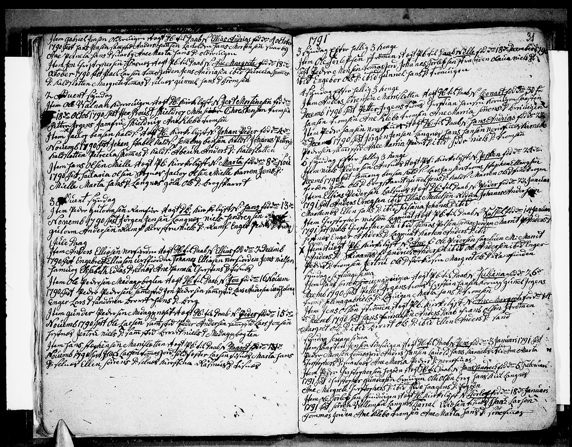 SATØ, Tromsø sokneprestkontor/stiftsprosti/domprosti, G/Ga/L0004kirke: Ministerialbok nr. 4, 1787-1795, s. 31