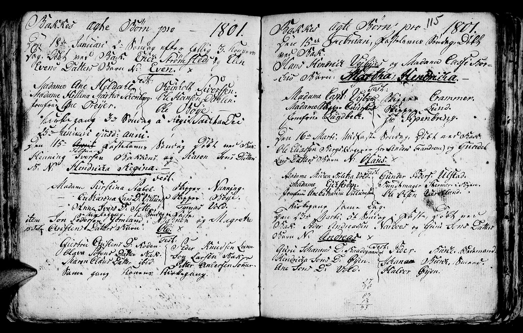 SAT, Ministerialprotokoller, klokkerbøker og fødselsregistre - Sør-Trøndelag, 604/L0218: Klokkerbok nr. 604C01, 1754-1819, s. 115