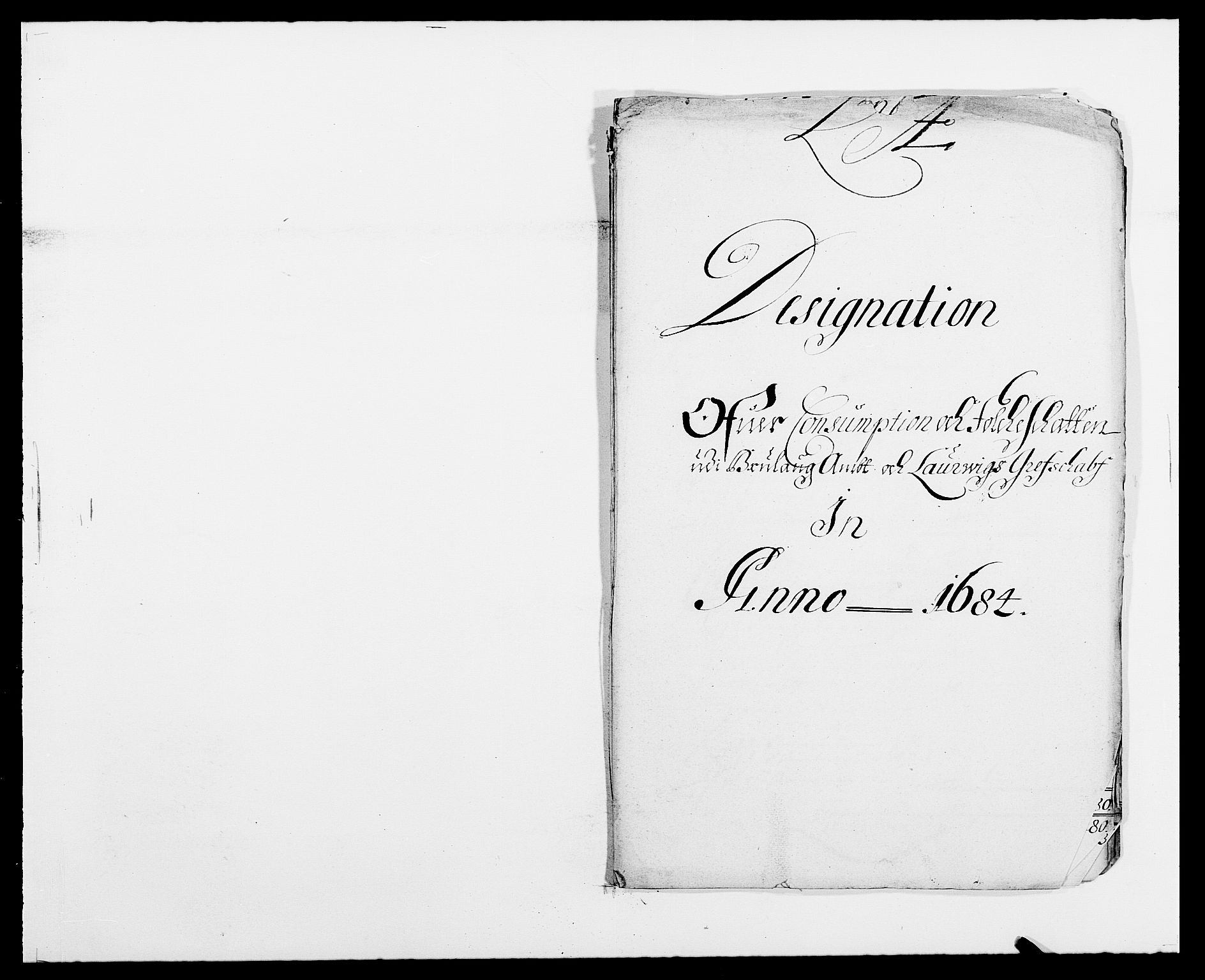 RA, Rentekammeret inntil 1814, Reviderte regnskaper, Fogderegnskap, R33/L1969: Fogderegnskap Larvik grevskap, 1675-1687, s. 420