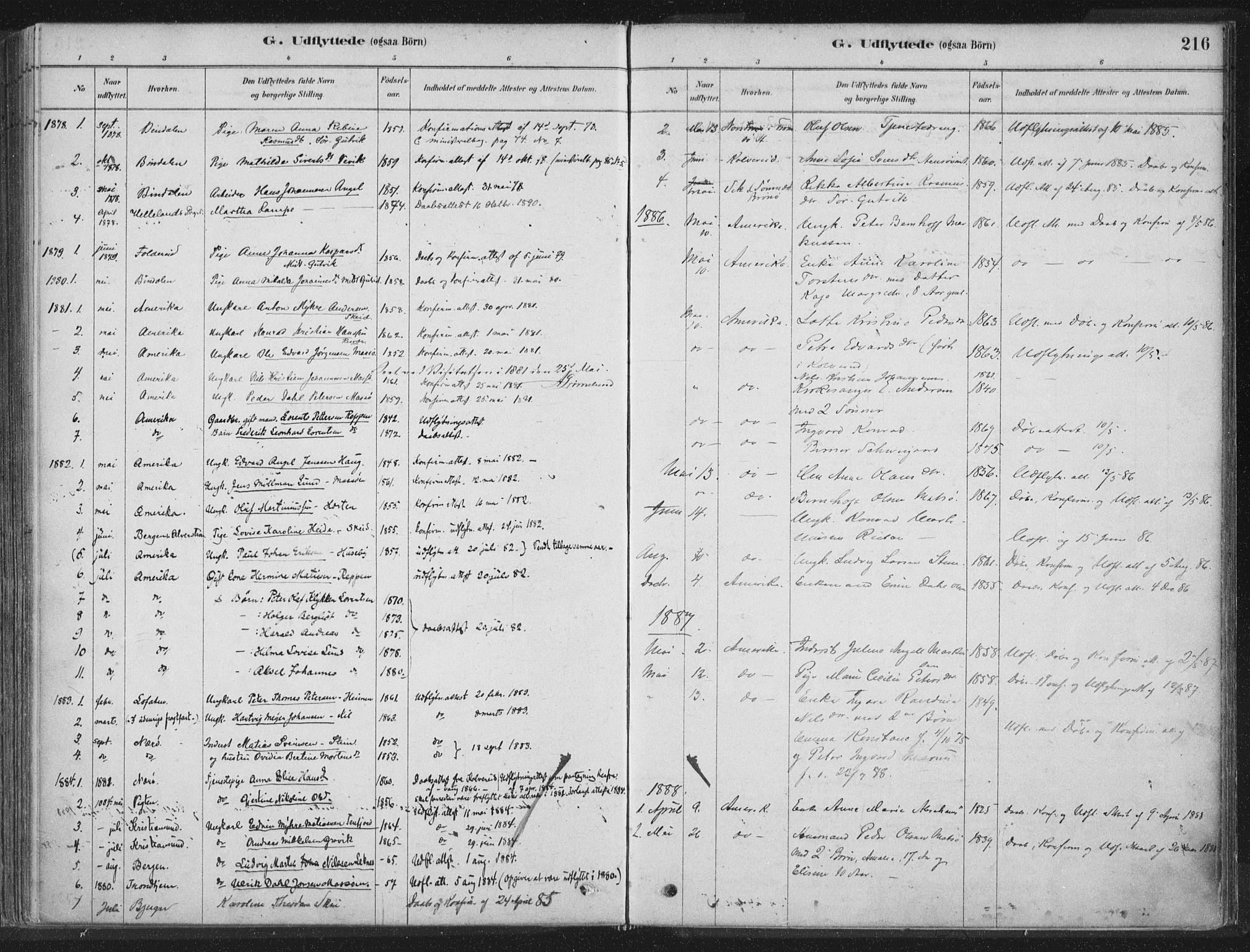 SAT, Ministerialprotokoller, klokkerbøker og fødselsregistre - Nord-Trøndelag, 788/L0697: Ministerialbok nr. 788A04, 1878-1902, s. 216