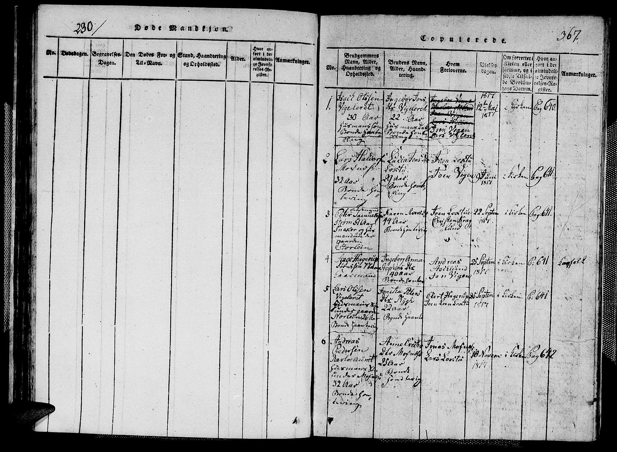 SAT, Ministerialprotokoller, klokkerbøker og fødselsregistre - Nord-Trøndelag, 713/L0124: Klokkerbok nr. 713C01, 1817-1827, s. 290-367
