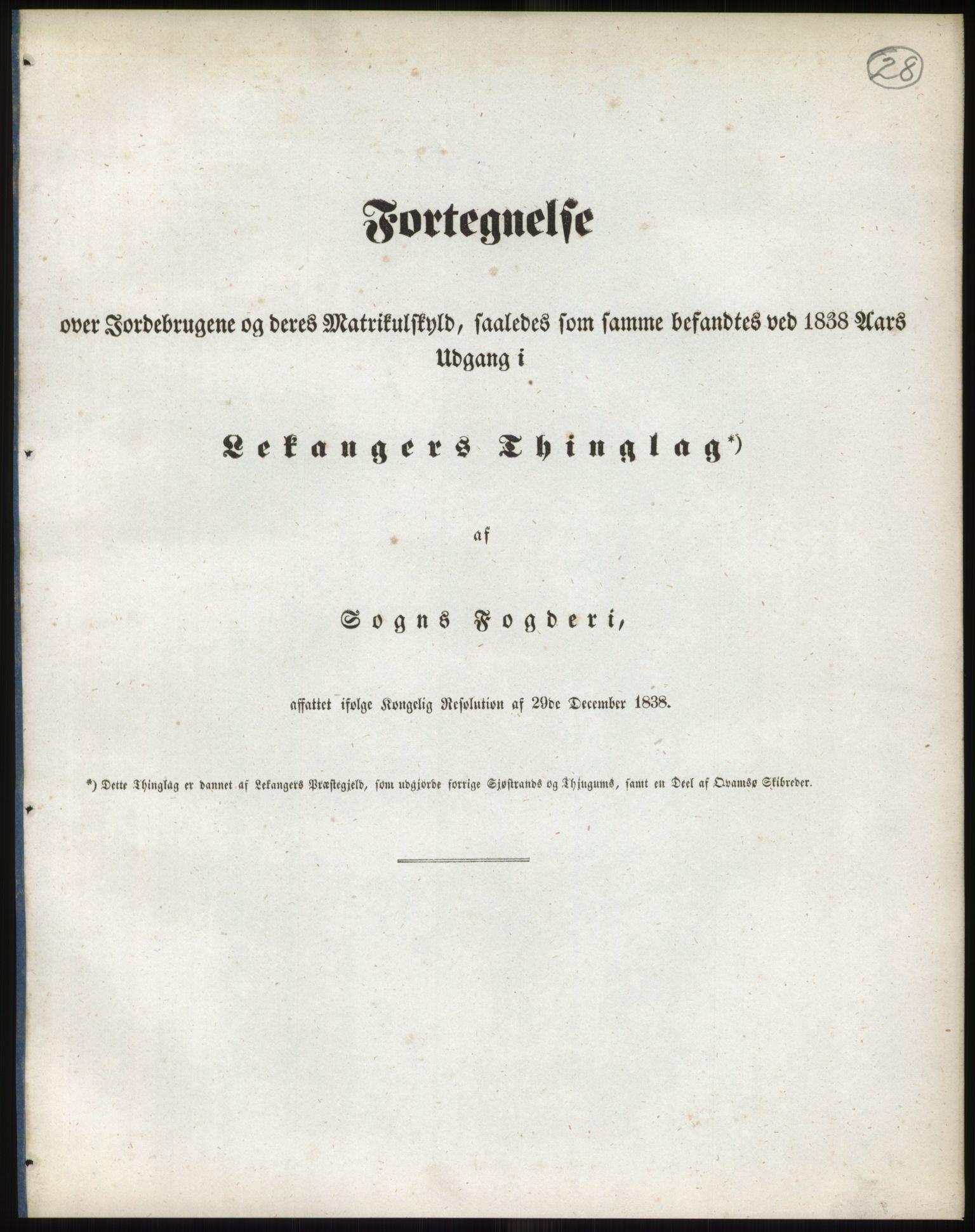 RA, 1838-matrikkelen (publikasjon)*, 1838, s. 28