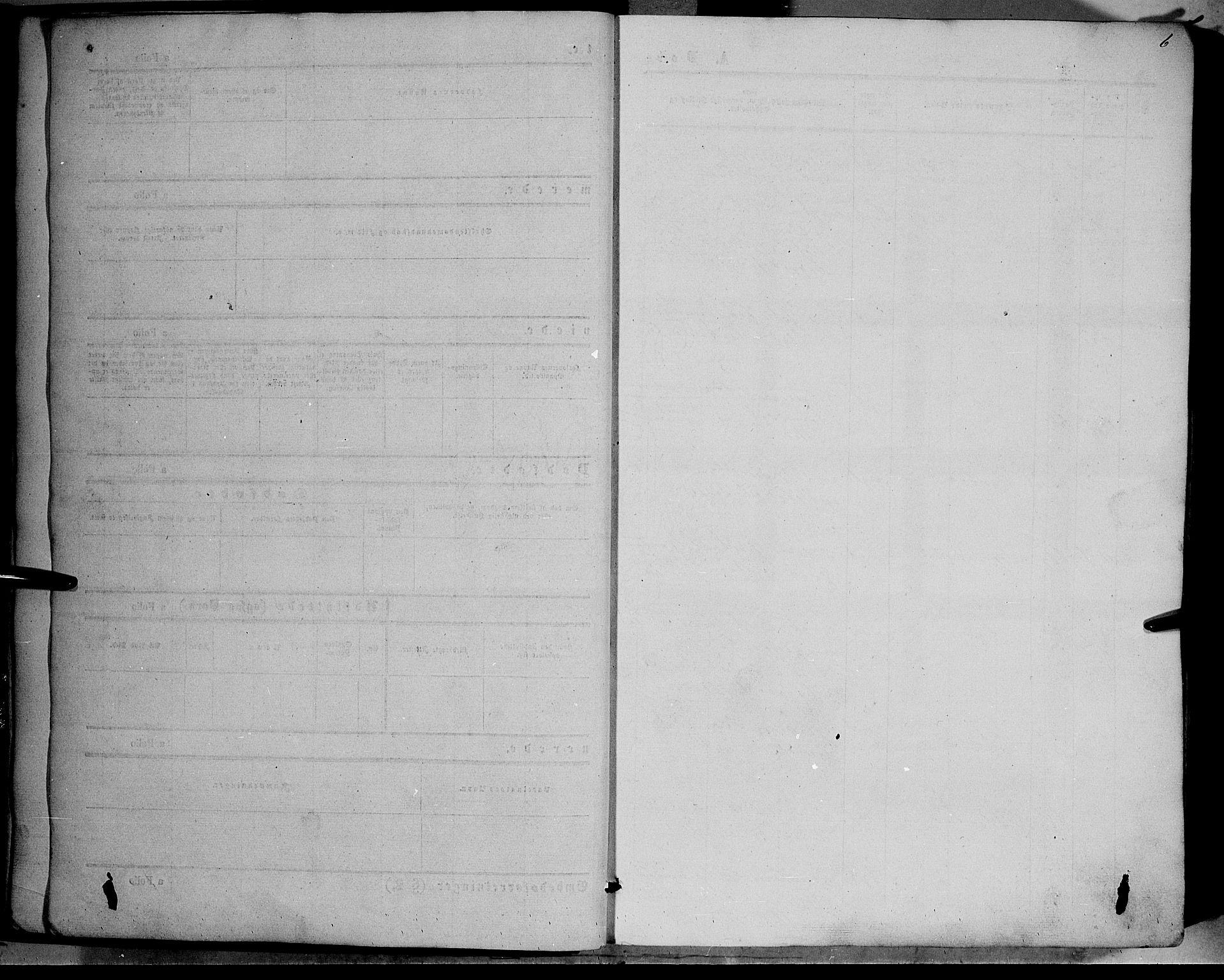 SAH, Vestre Slidre prestekontor, Ministerialbok nr. 2, 1856-1864, s. 6