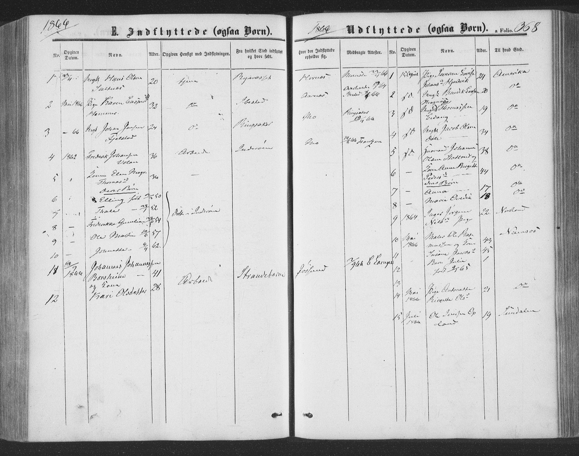 SAT, Ministerialprotokoller, klokkerbøker og fødselsregistre - Nord-Trøndelag, 773/L0615: Ministerialbok nr. 773A06, 1857-1870, s. 368