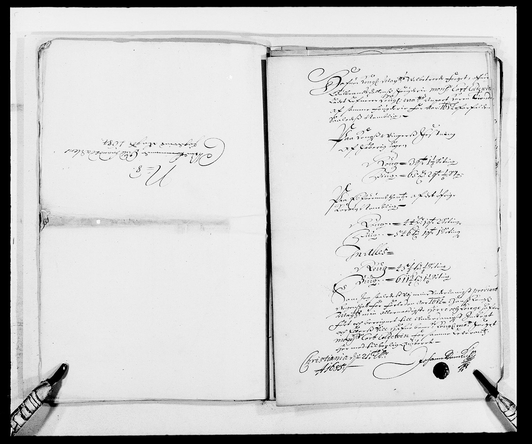 RA, Rentekammeret inntil 1814, Reviderte regnskaper, Fogderegnskap, R17/L1159: Fogderegnskap Gudbrandsdal, 1682-1689, s. 326