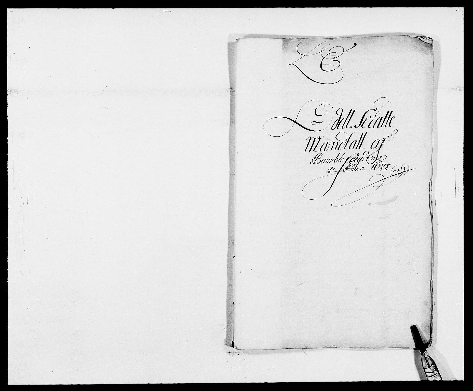 RA, Rentekammeret inntil 1814, Reviderte regnskaper, Fogderegnskap, R34/L2050: Fogderegnskap Bamble, 1688-1691, s. 98