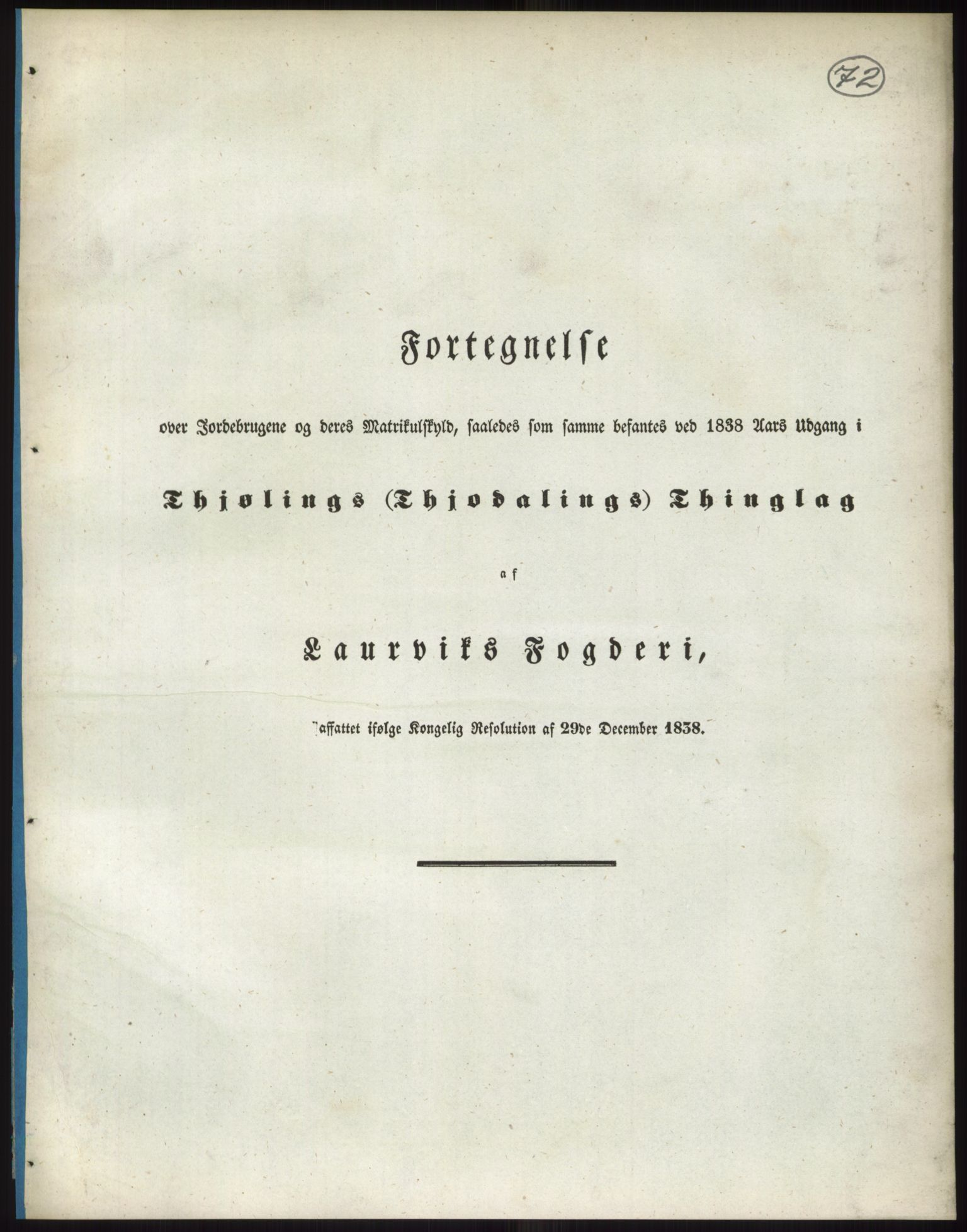 RA, 1838-matrikkelen (publikasjon)*, 1838, s. 72