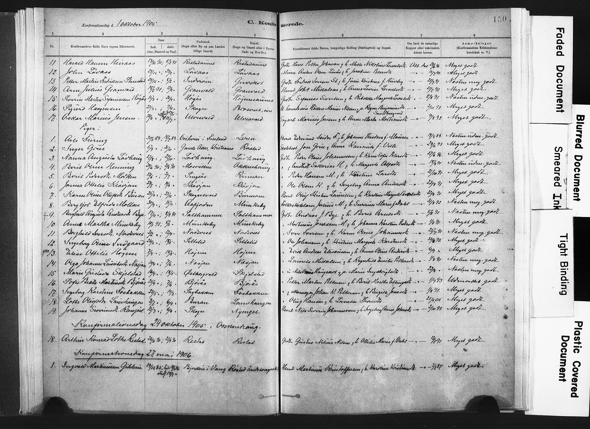 SAT, Ministerialprotokoller, klokkerbøker og fødselsregistre - Nord-Trøndelag, 721/L0207: Ministerialbok nr. 721A02, 1880-1911, s. 150