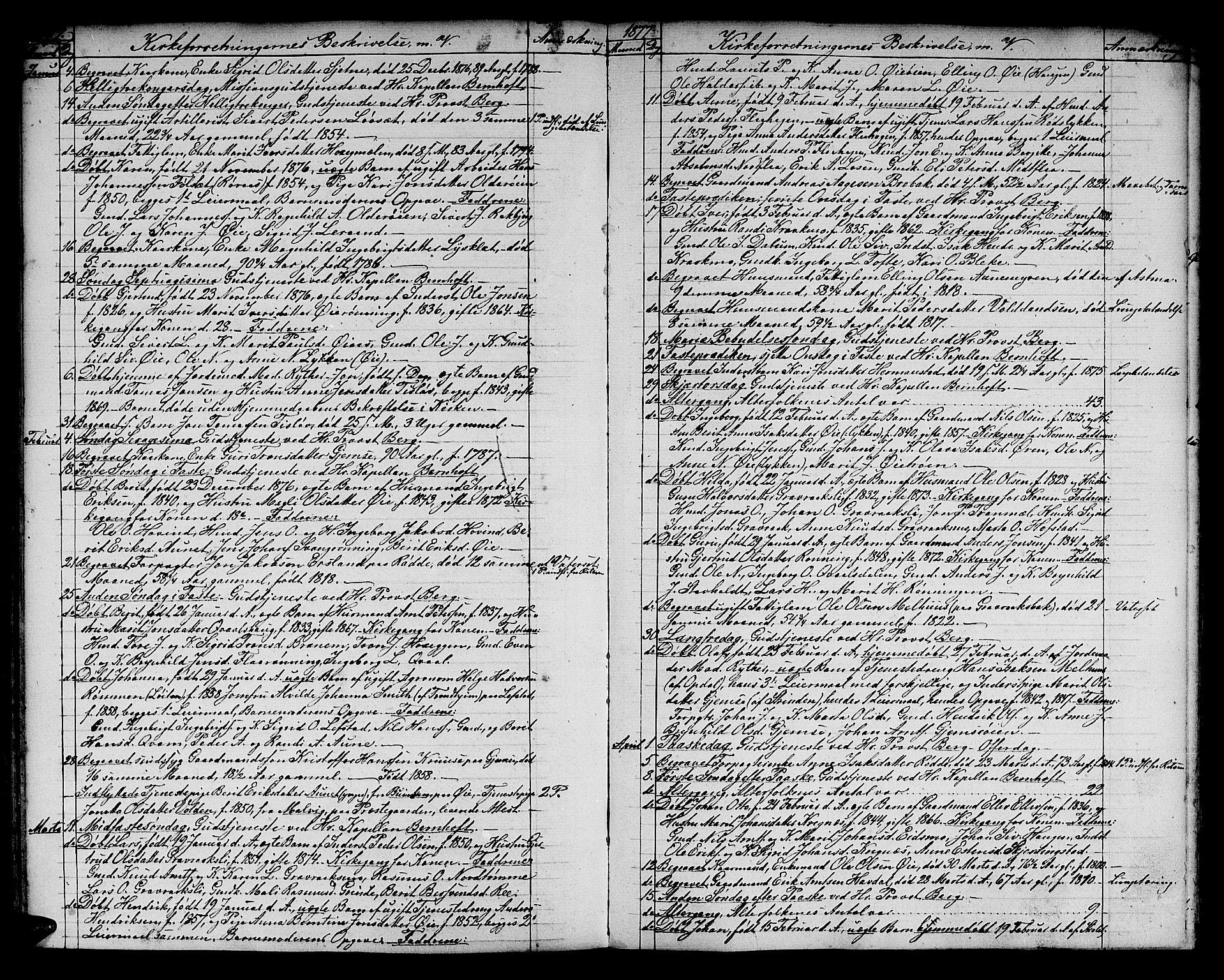 SAT, Ministerialprotokoller, klokkerbøker og fødselsregistre - Sør-Trøndelag, 691/L1093: Klokkerbok nr. 691C04, 1852-1879, s. 131