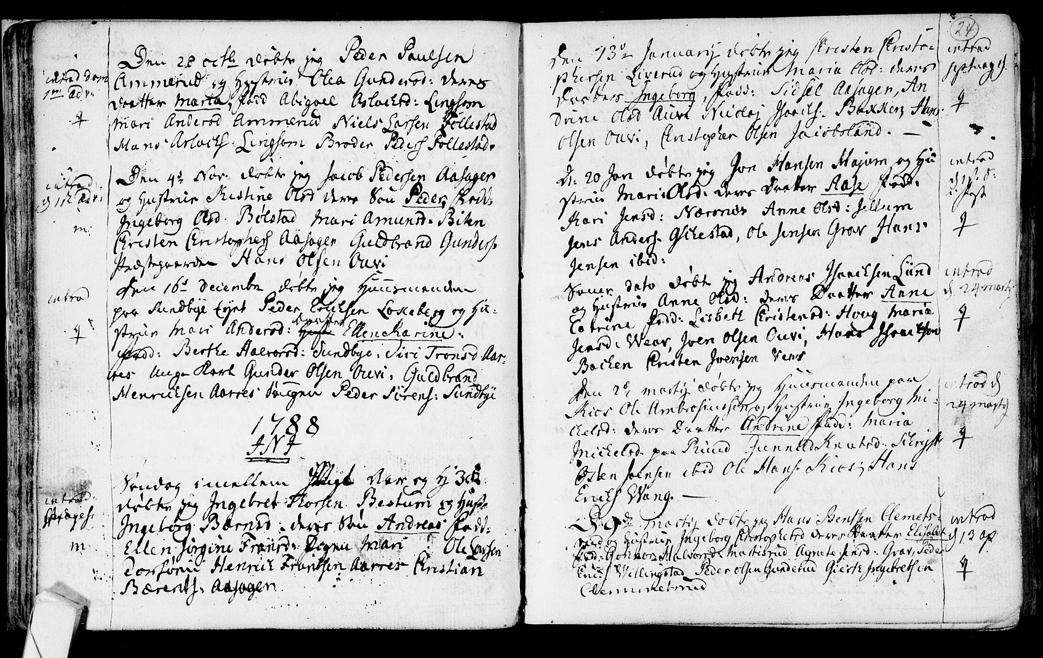 SAKO, Røyken kirkebøker, F/Fa/L0003: Ministerialbok nr. 3, 1782-1813, s. 24