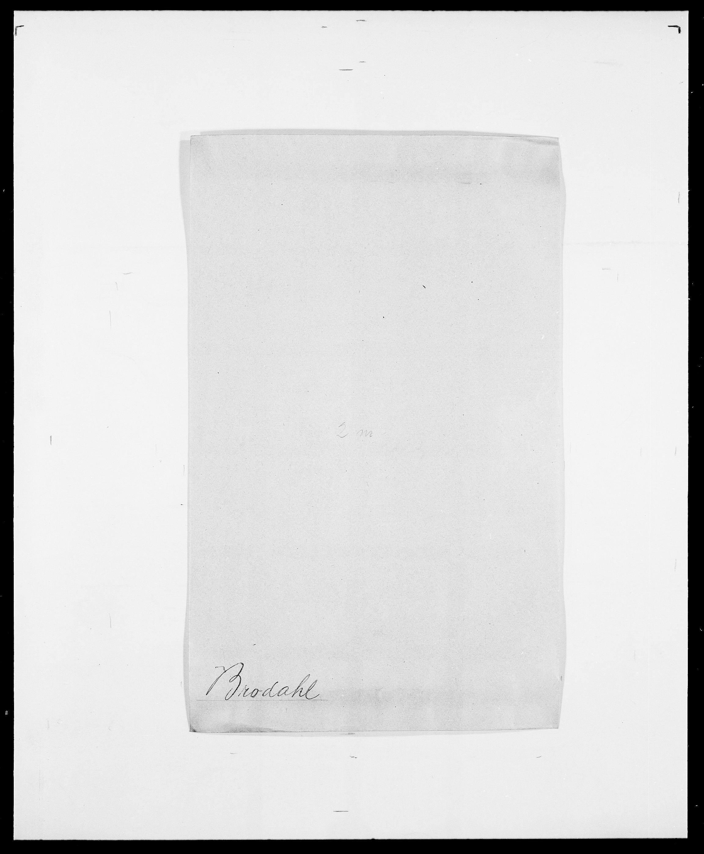 SAO, Delgobe, Charles Antoine - samling, D/Da/L0006: Brambani - Brønø, s. 494