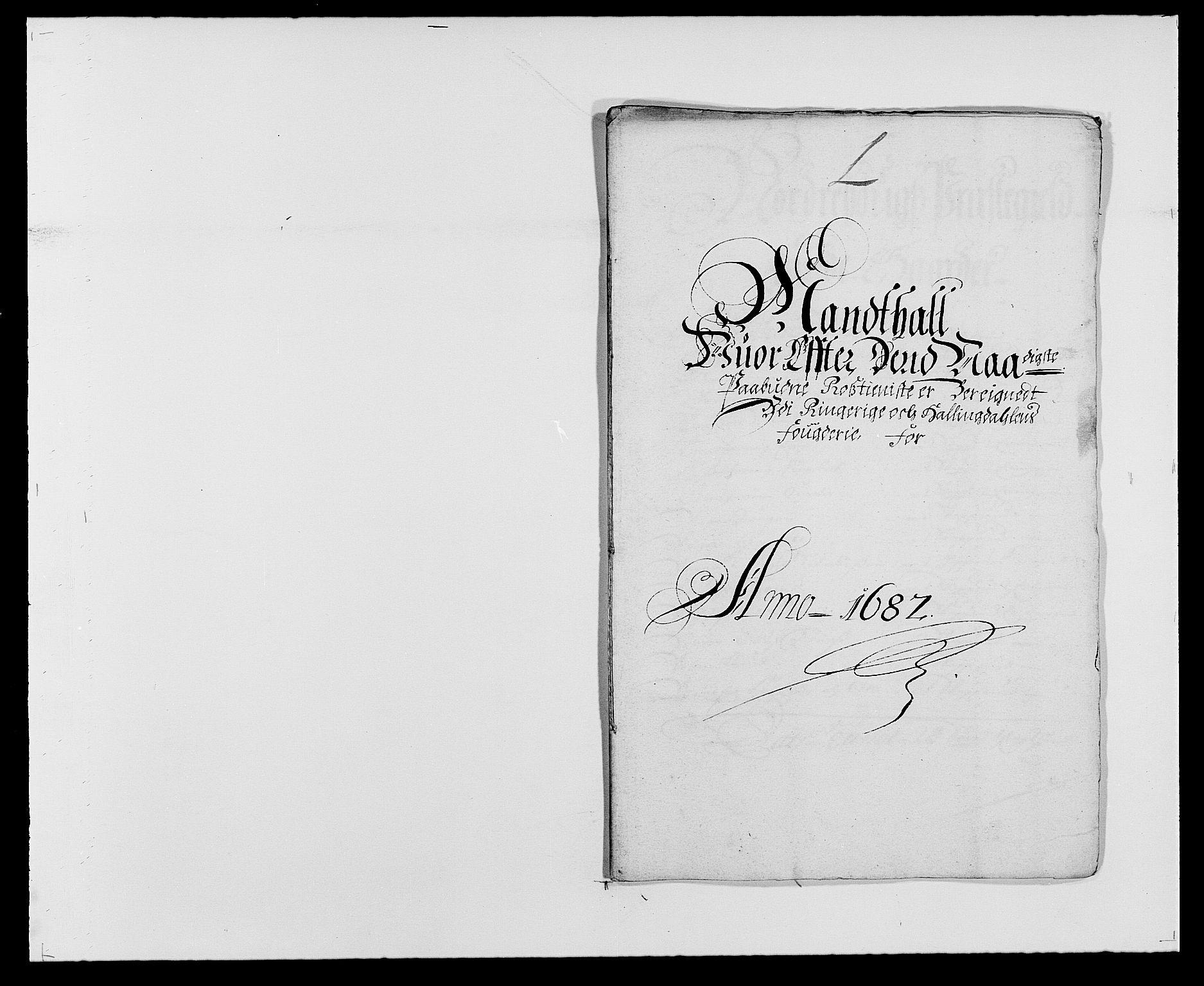 RA, Rentekammeret inntil 1814, Reviderte regnskaper, Fogderegnskap, R21/L1445: Fogderegnskap Ringerike og Hallingdal, 1681-1689, s. 397