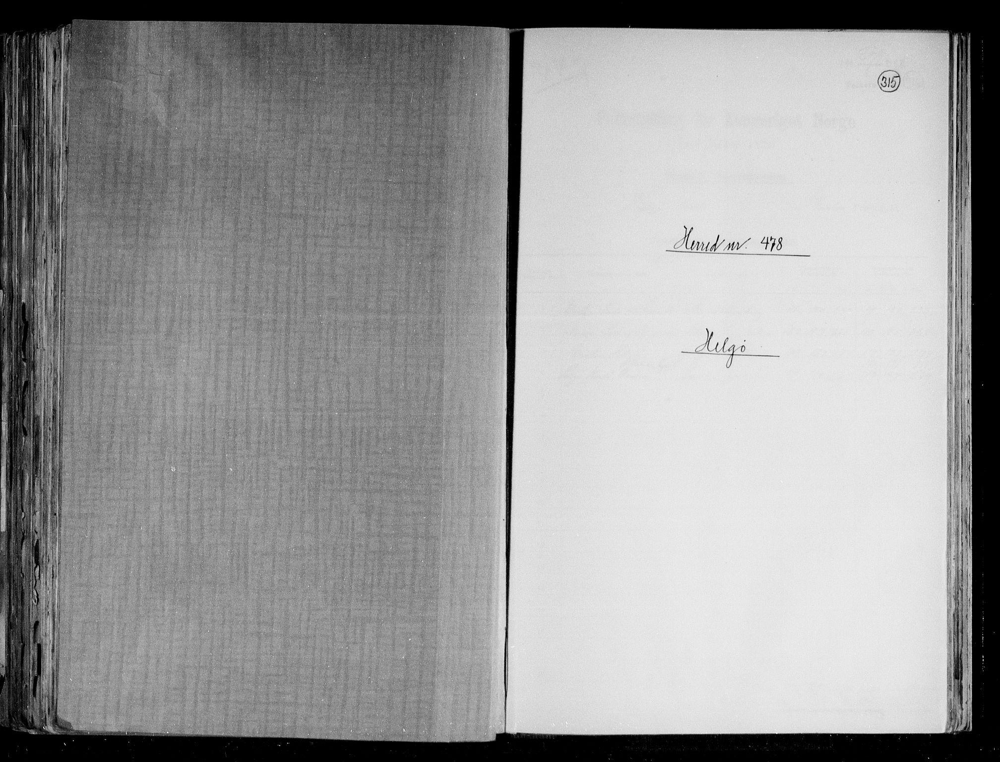 RA, Folketelling 1891 for 1935 Helgøy herred, 1891, s. 1