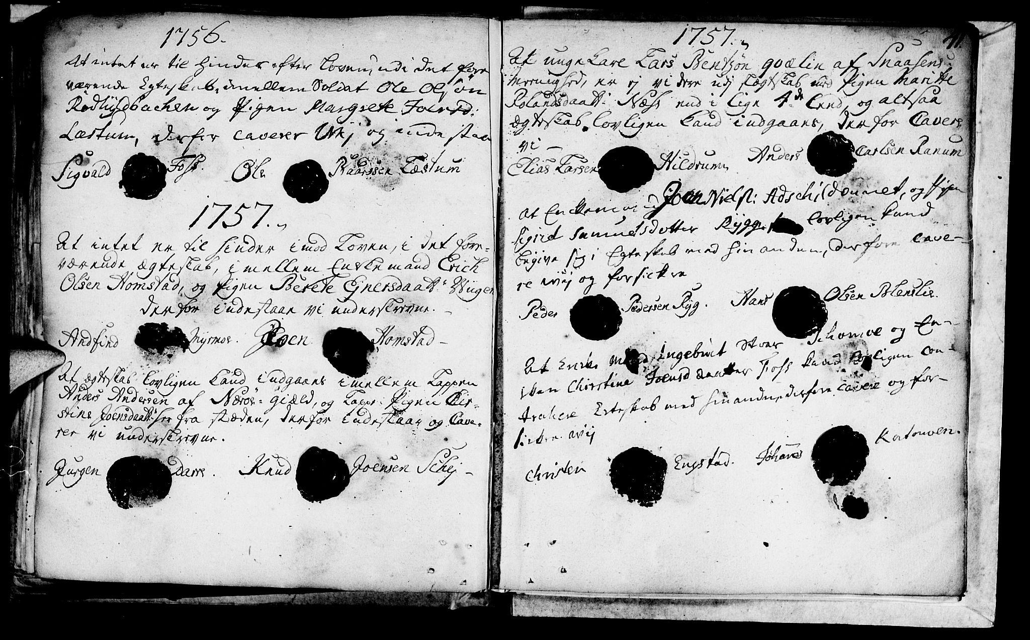 SAT, Ministerialprotokoller, klokkerbøker og fødselsregistre - Nord-Trøndelag, 764/L0541: Ministerialbok nr. 764A01, 1745-1758, s. 41