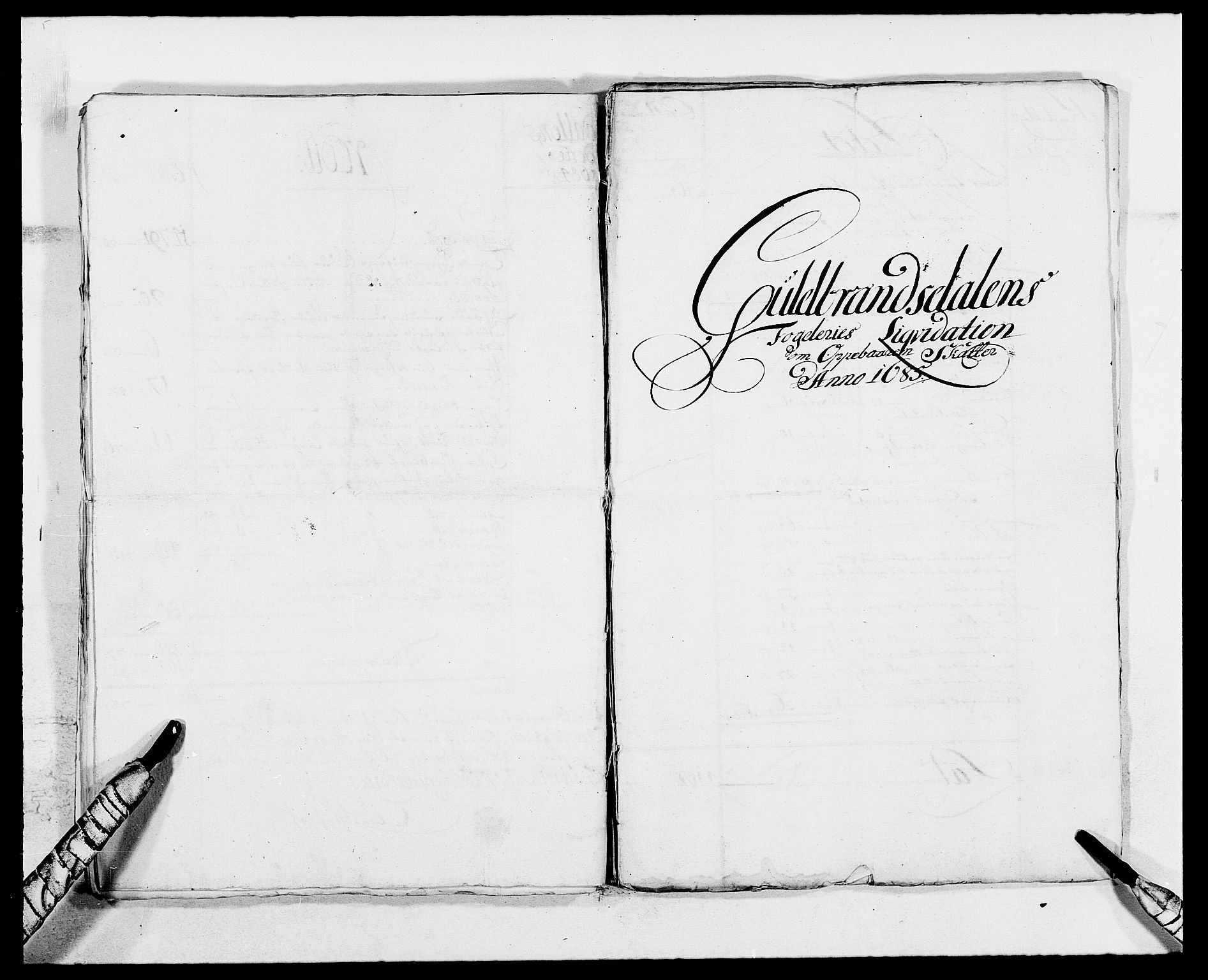 RA, Rentekammeret inntil 1814, Reviderte regnskaper, Fogderegnskap, R17/L1157: Fogderegnskap Gudbrandsdal, 1682-1689, s. 16