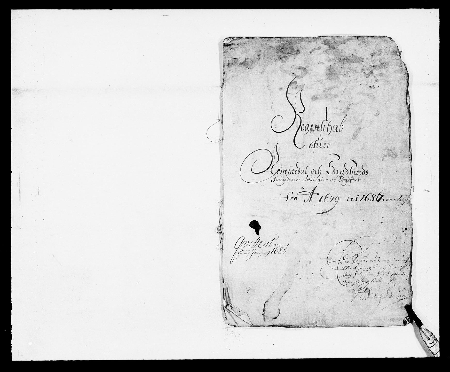 RA, Rentekammeret inntil 1814, Reviderte regnskaper, Fogderegnskap, R24/L1569: Fogderegnskap Numedal og Sandsvær, 1679-1686, s. 46