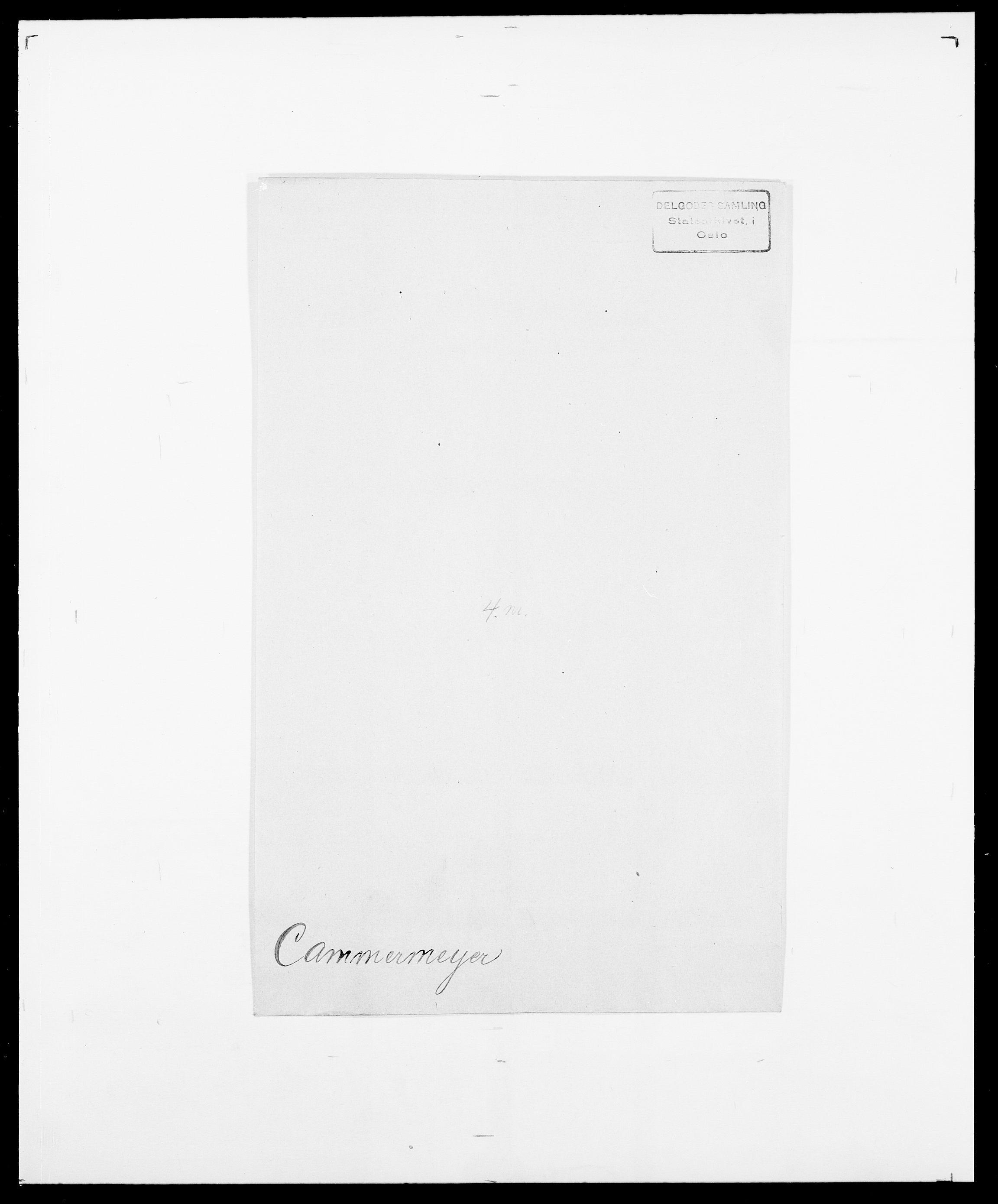 SAO, Delgobe, Charles Antoine - samling, D/Da/L0007: Buaas - Caphengst, s. 835