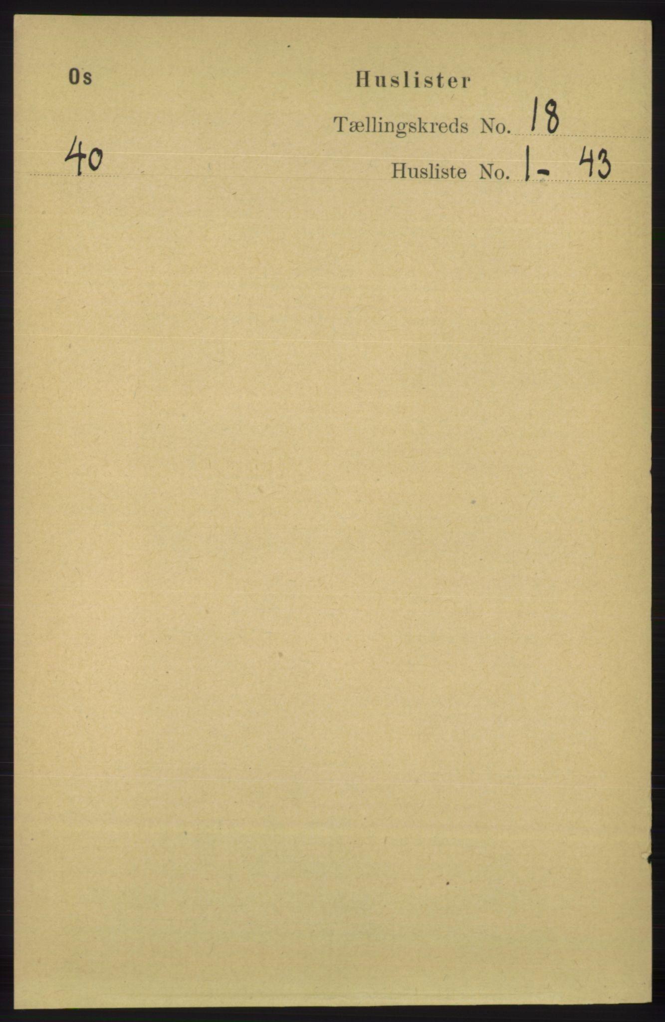 RA, Folketelling 1891 for 1243 Os herred, 1891, s. 3865