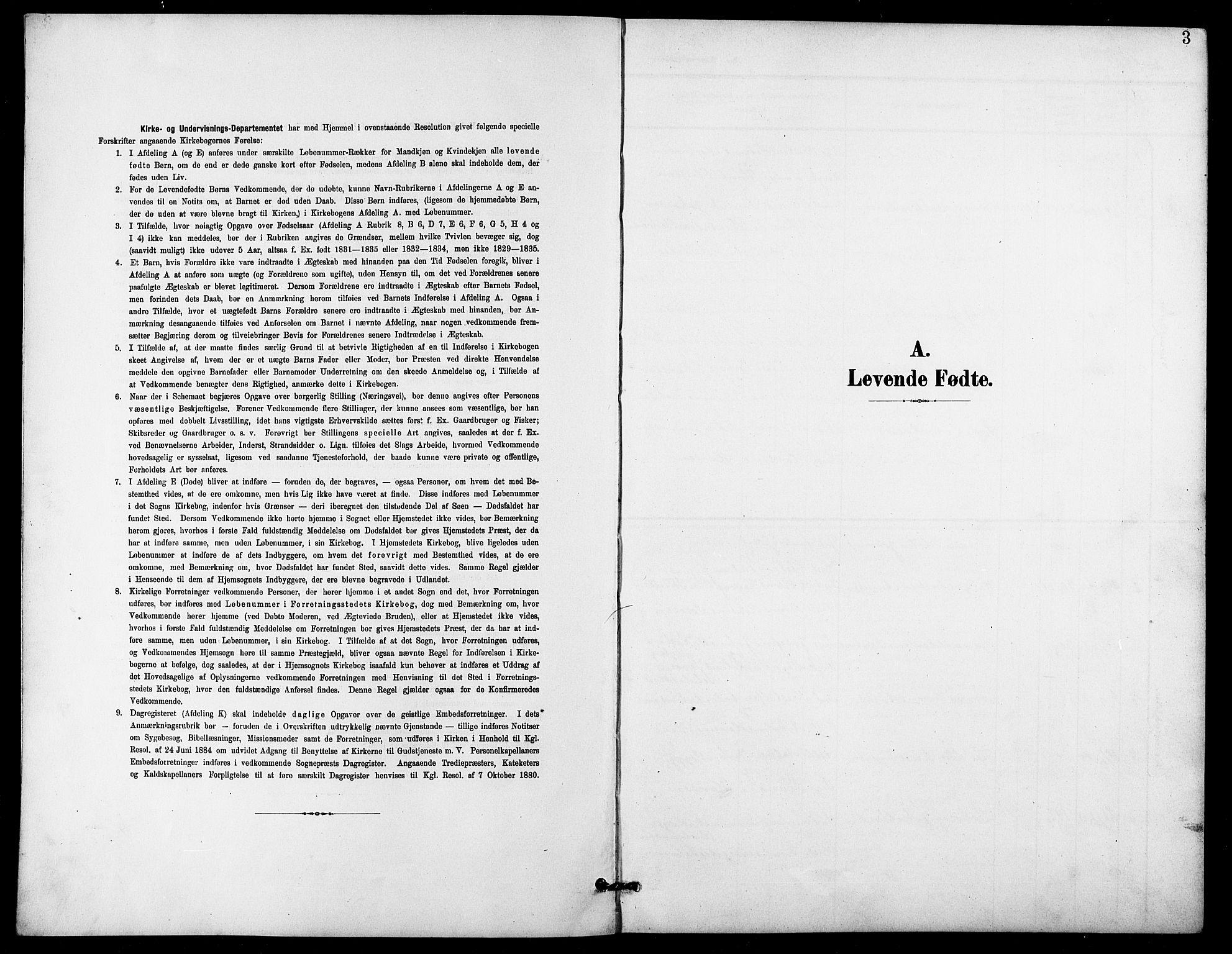 SATØ, Lenvik sokneprestembete, H/Ha: Klokkerbok nr. 22, 1901-1918, s. 3