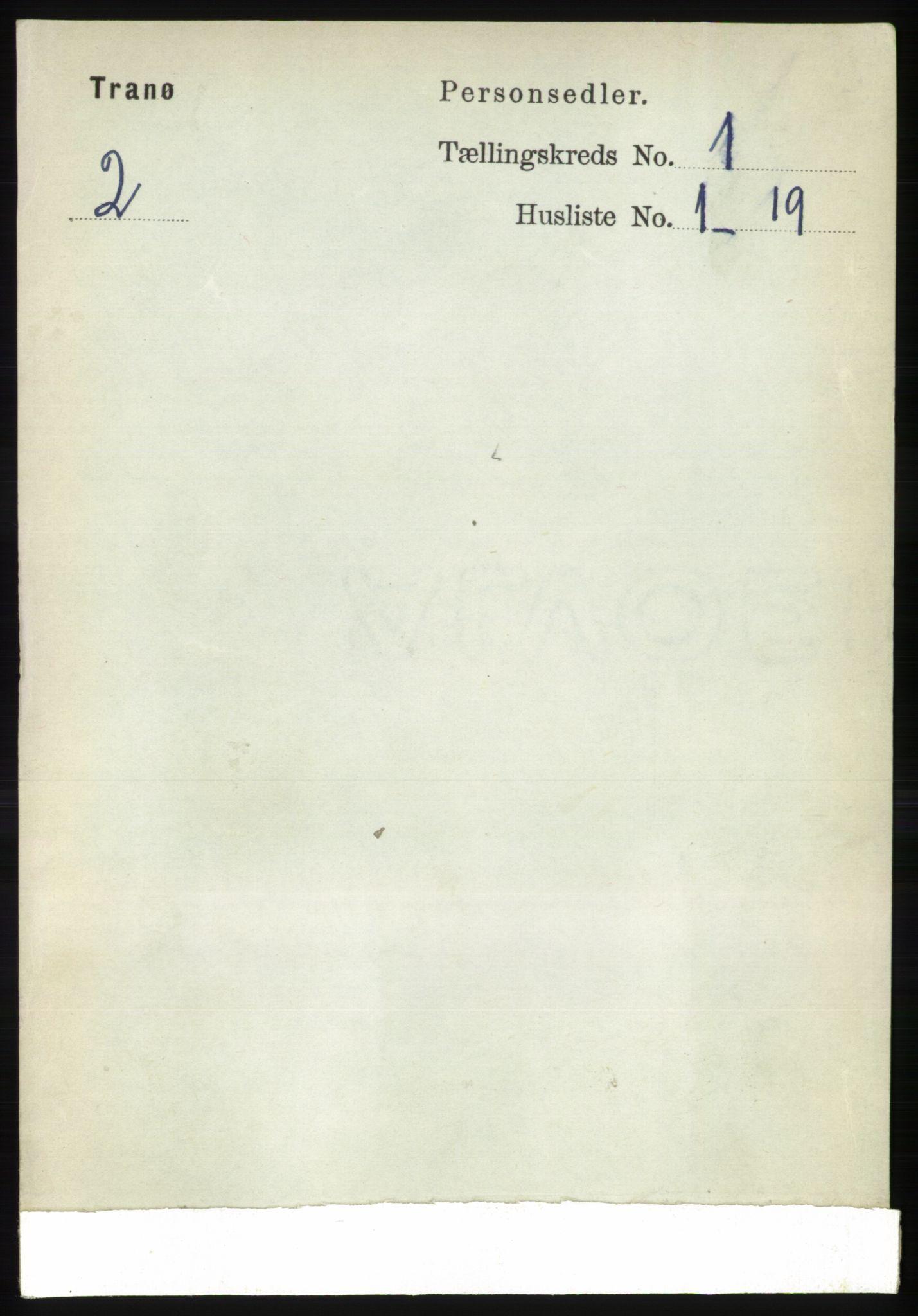 RA, Folketelling 1891 for 1927 Tranøy herred, 1891, s. 66