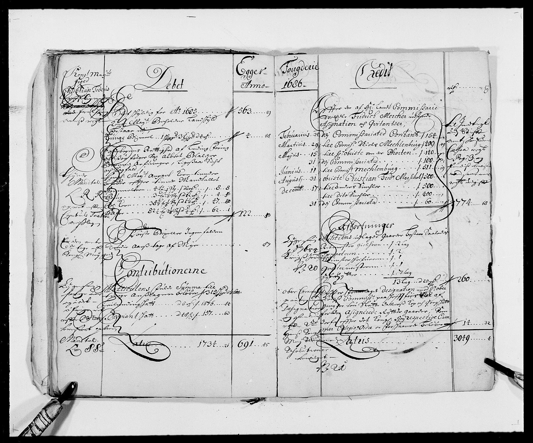 RA, Rentekammeret inntil 1814, Reviderte regnskaper, Fogderegnskap, R26/L1684: Fogderegnskap Eiker, 1679-1686, s. 26