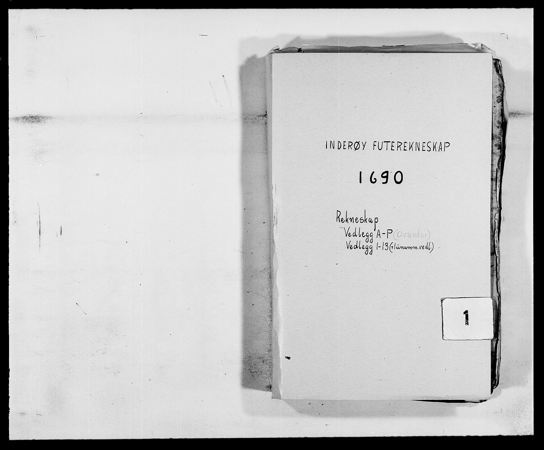 RA, Rentekammeret inntil 1814, Reviderte regnskaper, Fogderegnskap, R63/L4307: Fogderegnskap Inderøy, 1690-1691, s. 1