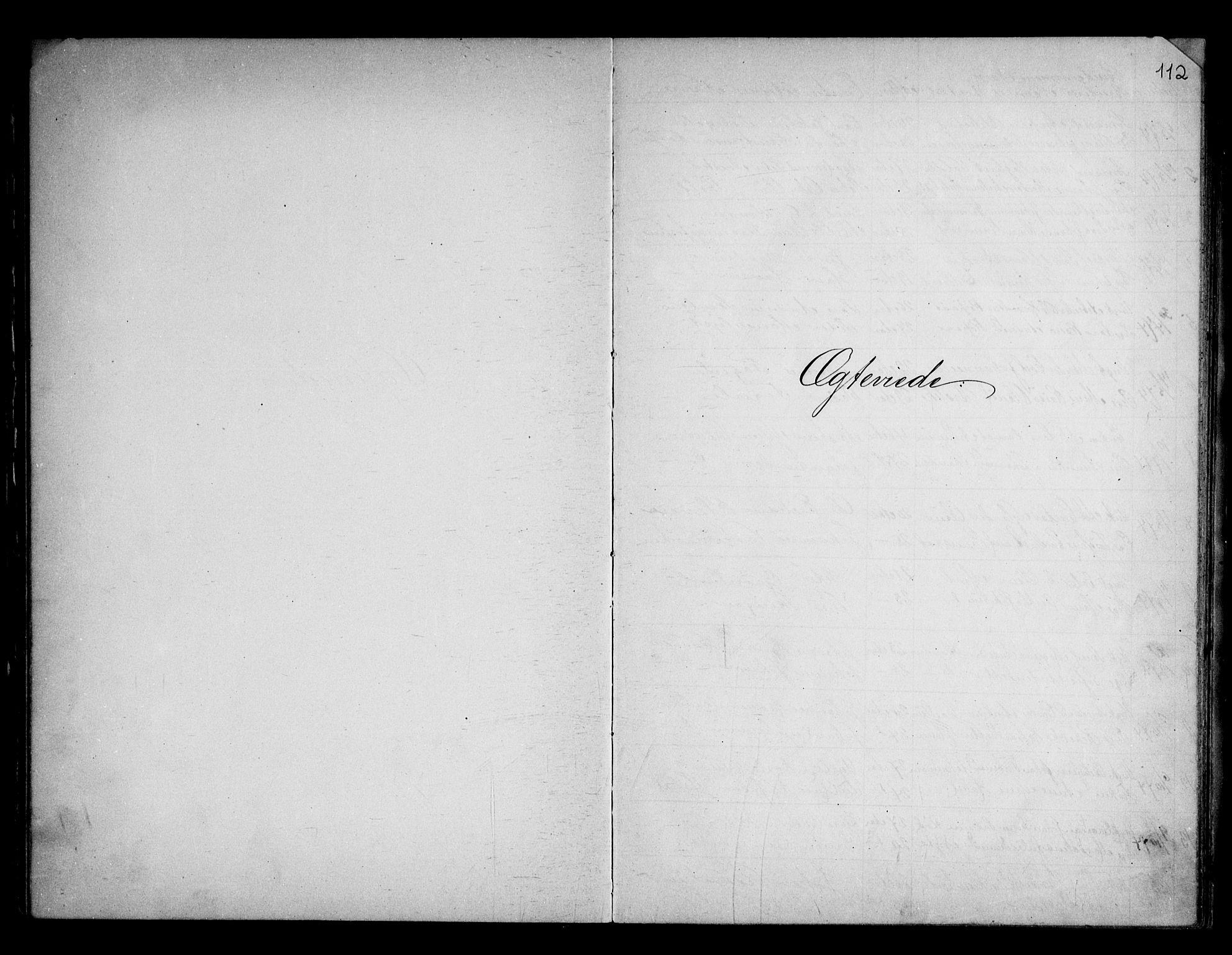 SAO, Berg prestekontor Kirkebøker, G/Gb/L0001: Klokkerbok nr. II 1, 1874-1946, s. 112