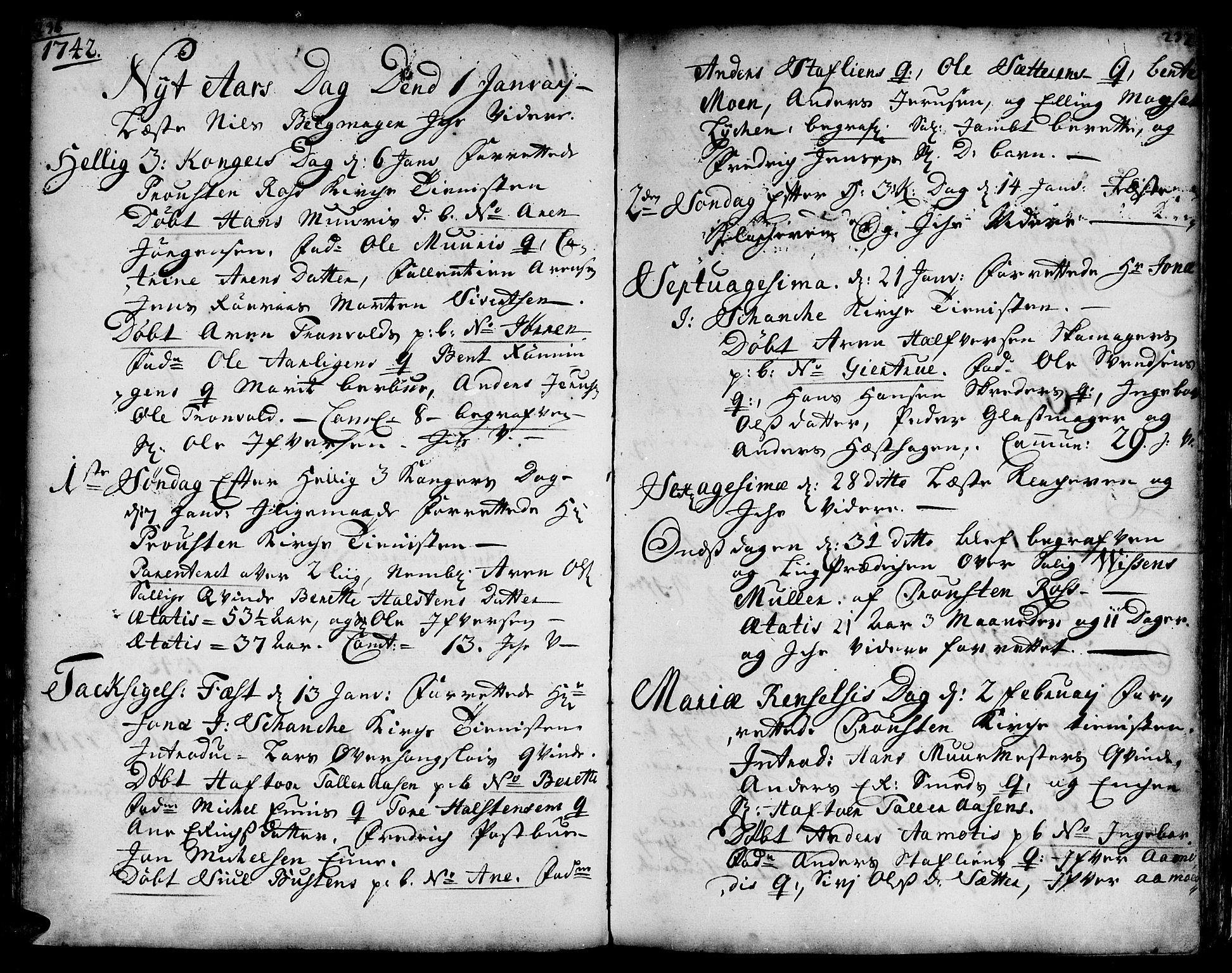 SAT, Ministerialprotokoller, klokkerbøker og fødselsregistre - Sør-Trøndelag, 671/L0839: Ministerialbok nr. 671A01, 1730-1755, s. 236-237