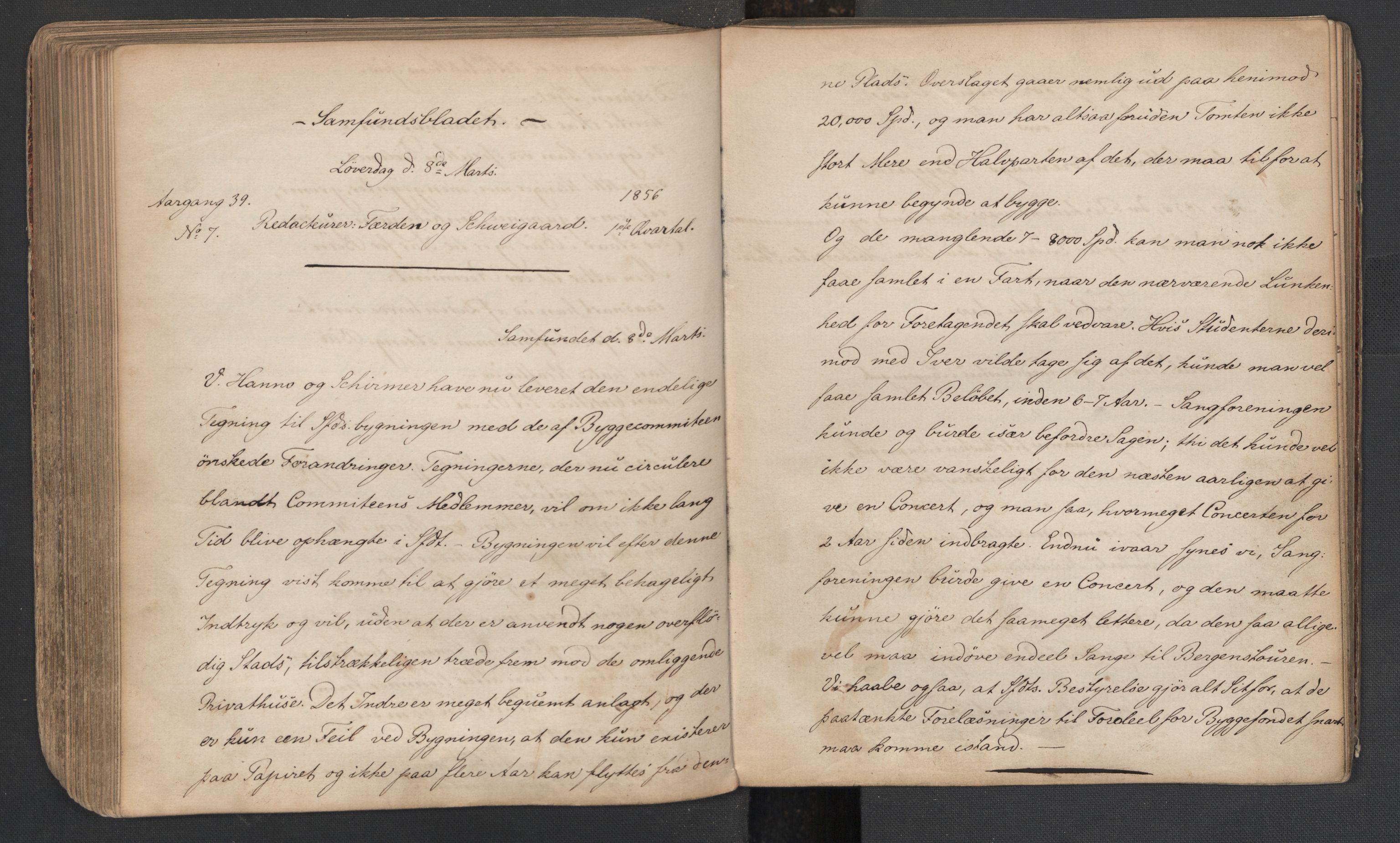 RA, Det Norske Studentersamfund, X/Xa/L0005, 1855-1856, s. 165
