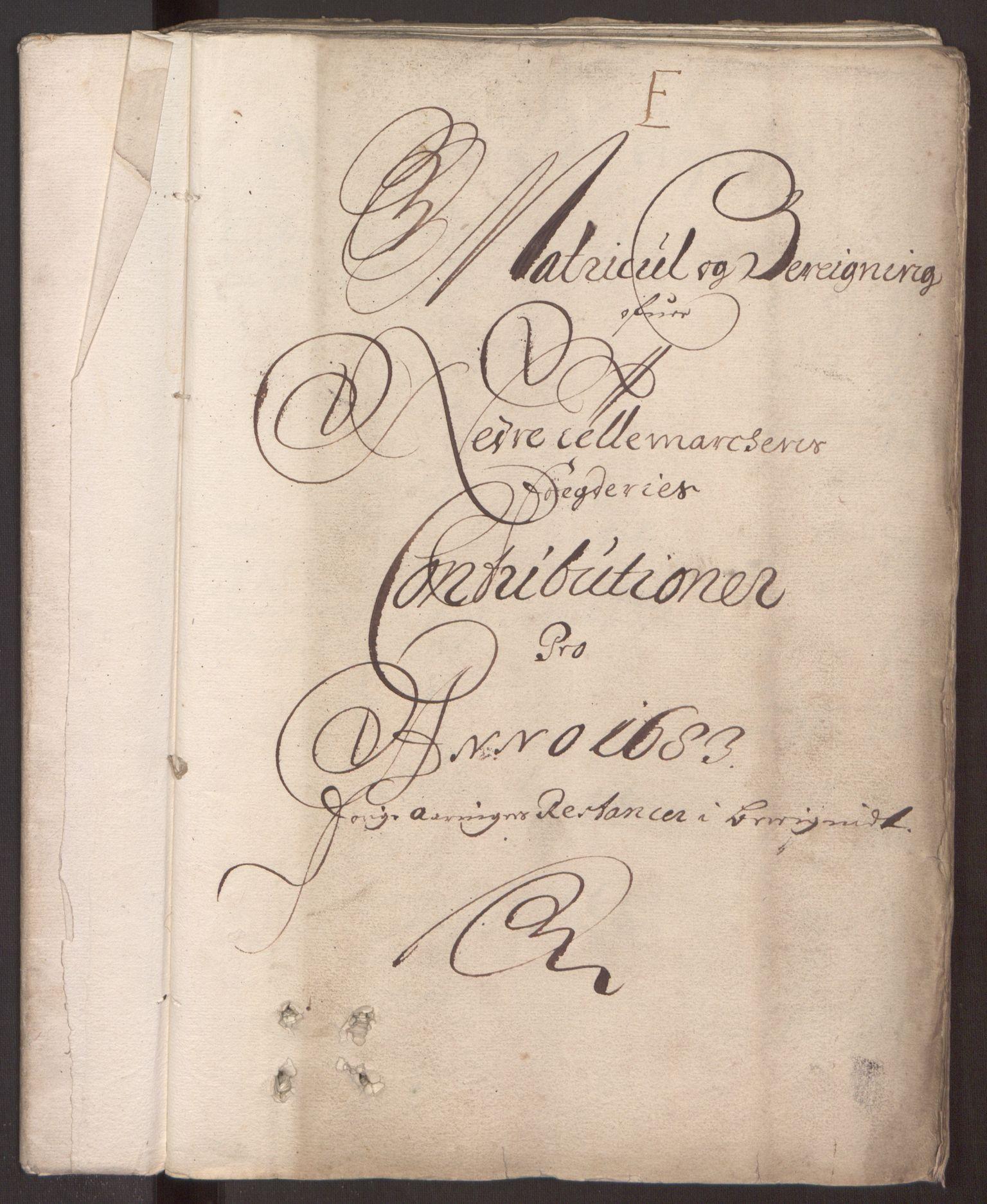 RA, Rentekammeret inntil 1814, Reviderte regnskaper, Fogderegnskap, R35/L2079: Fogderegnskap Øvre og Nedre Telemark, 1680-1684, s. 201