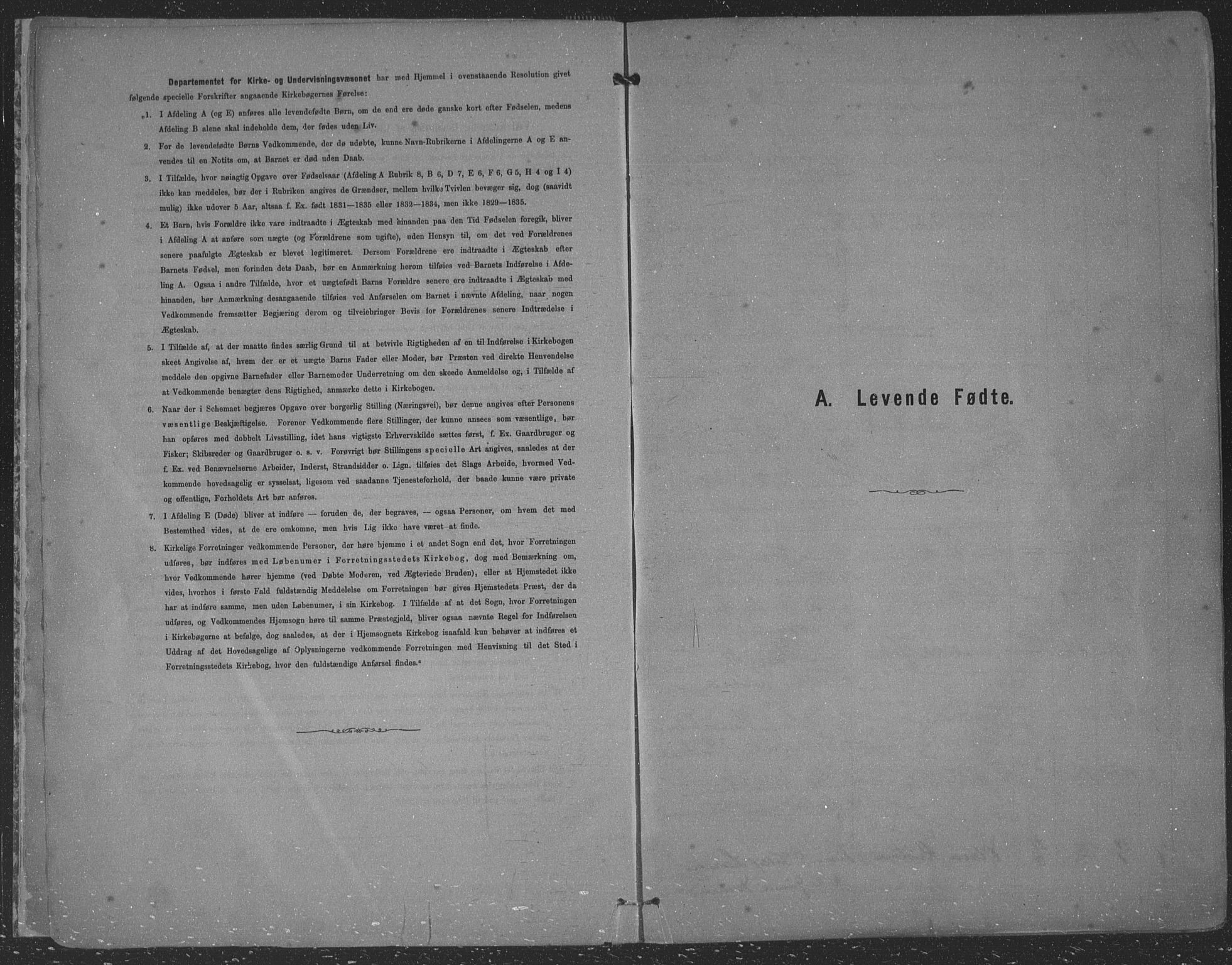 SAST, Kopervik sokneprestkontor, H/Ha/Haa/L0001: Ministerialbok nr. A 1, 1880-1919