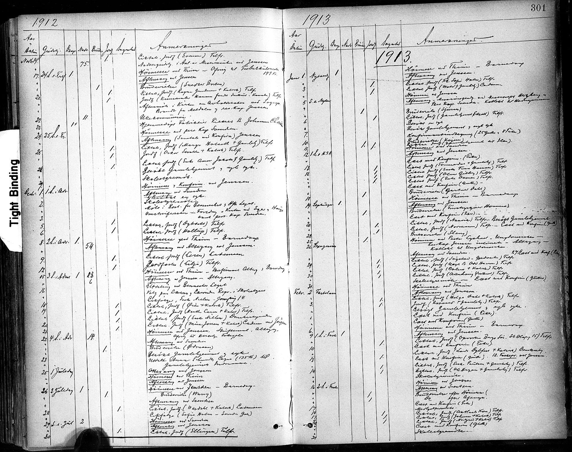 SAT, Ministerialprotokoller, klokkerbøker og fødselsregistre - Sør-Trøndelag, 602/L0120: Ministerialbok nr. 602A18, 1880-1913, s. 301