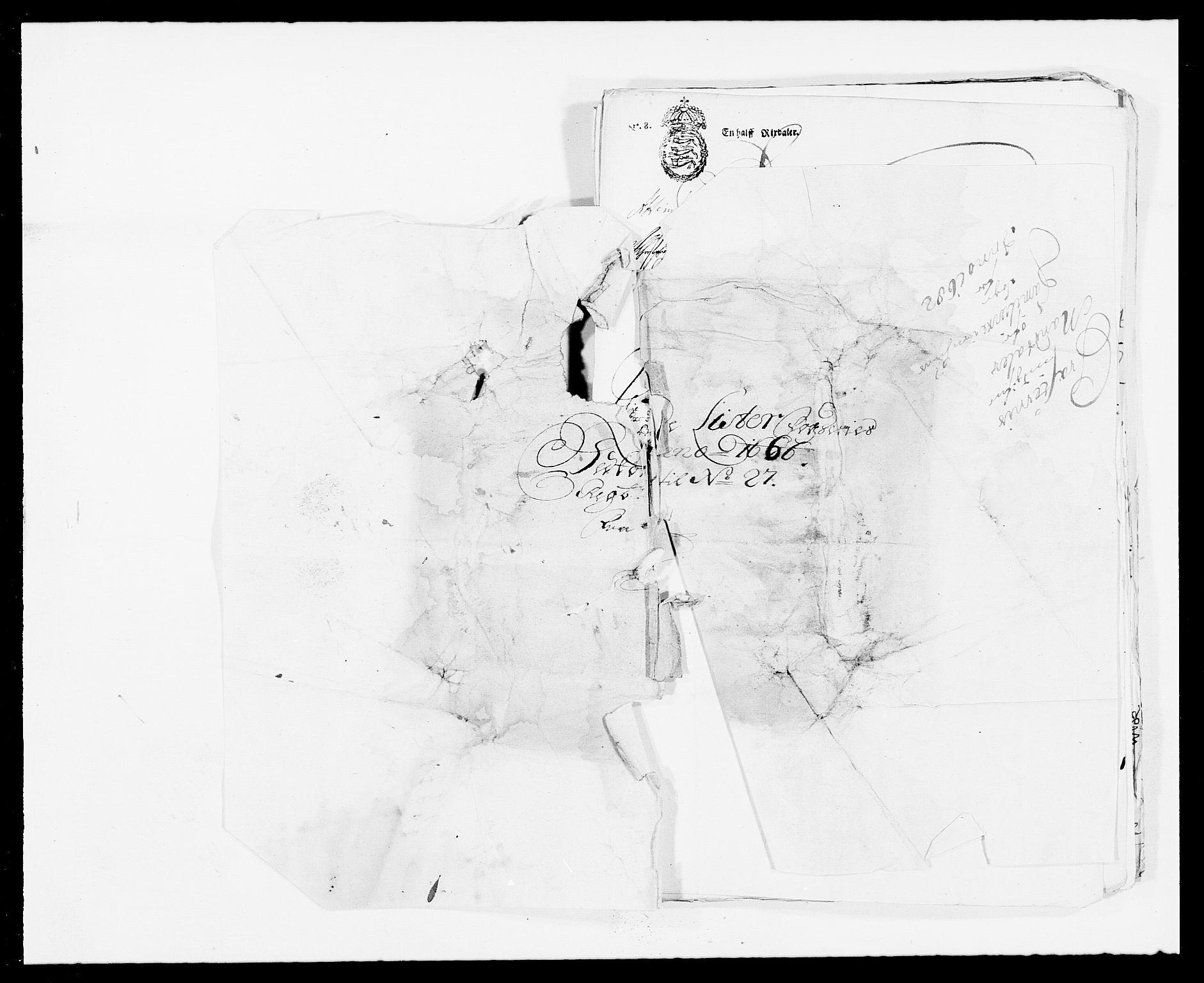 RA, Rentekammeret inntil 1814, Reviderte regnskaper, Fogderegnskap, R41/L2524: Fogderegnskap Lista, 1665-1668, s. 226
