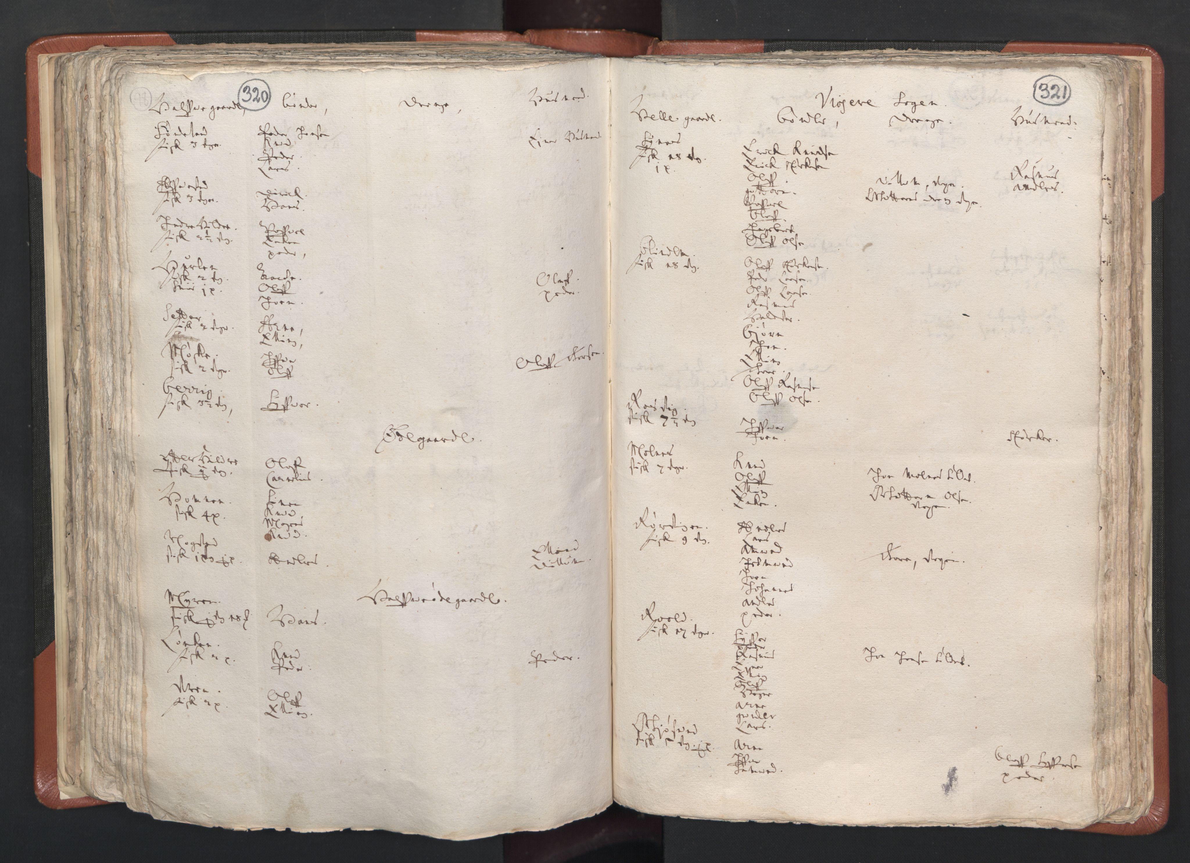 RA, Sogneprestenes manntall 1664-1666, nr. 26: Sunnmøre prosti, 1664-1666, s. 320-321