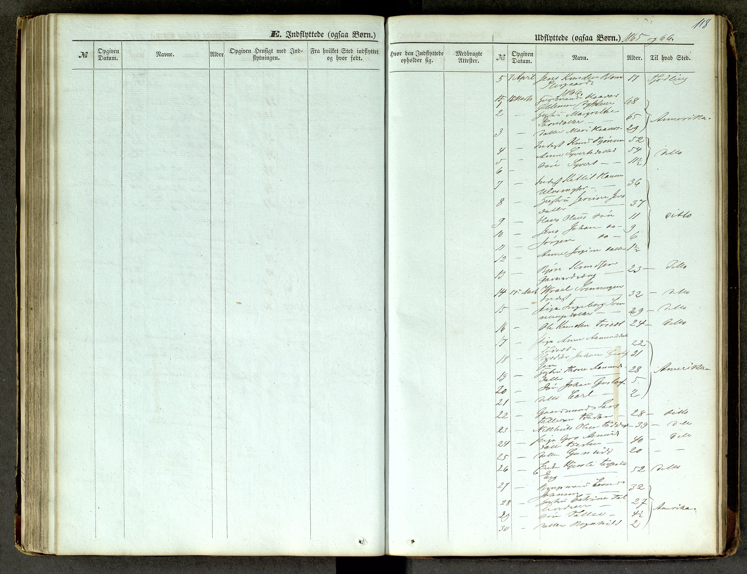 SAKO, Lårdal kirkebøker, G/Ga/L0002: Klokkerbok nr. I 2, 1861-1890, s. 118