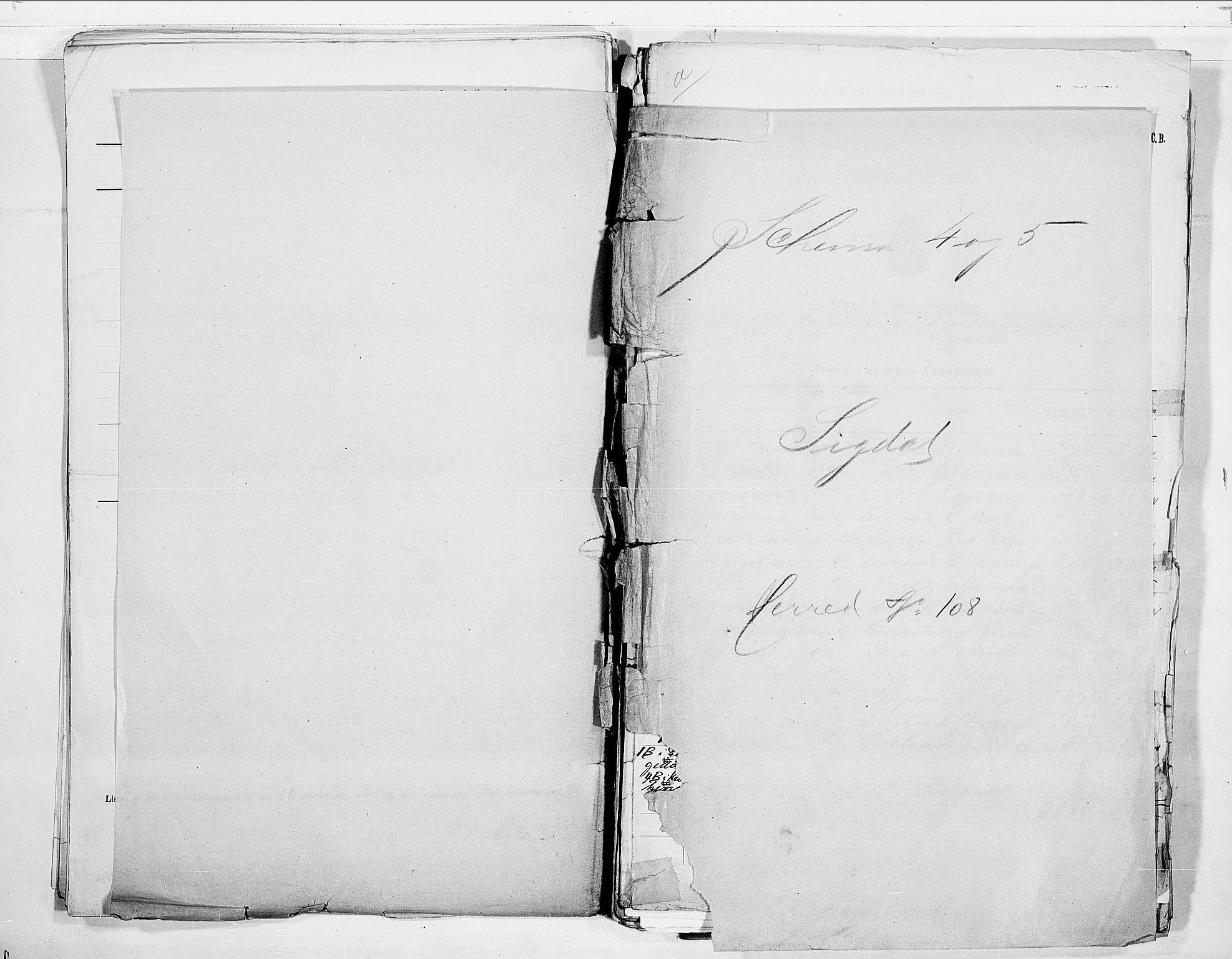RA, Folketelling 1900 for 0621 Sigdal herred, 1900, s. 1