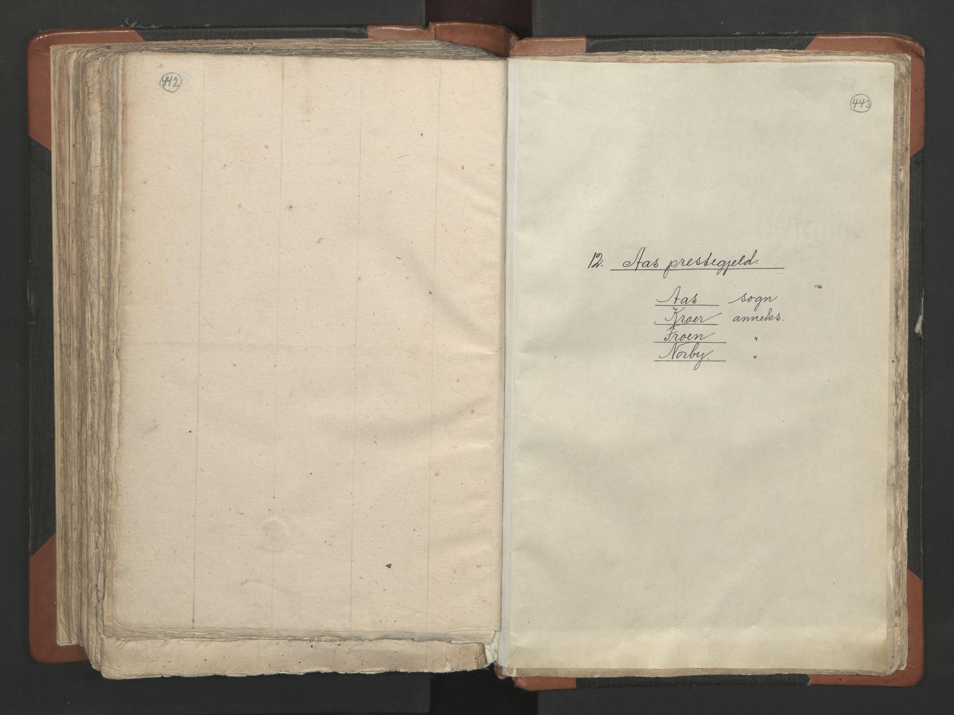 RA, Sogneprestenes manntall 1664-1666, nr. 2: Øvre Borgesyssel prosti, 1664-1666, s. 442-443