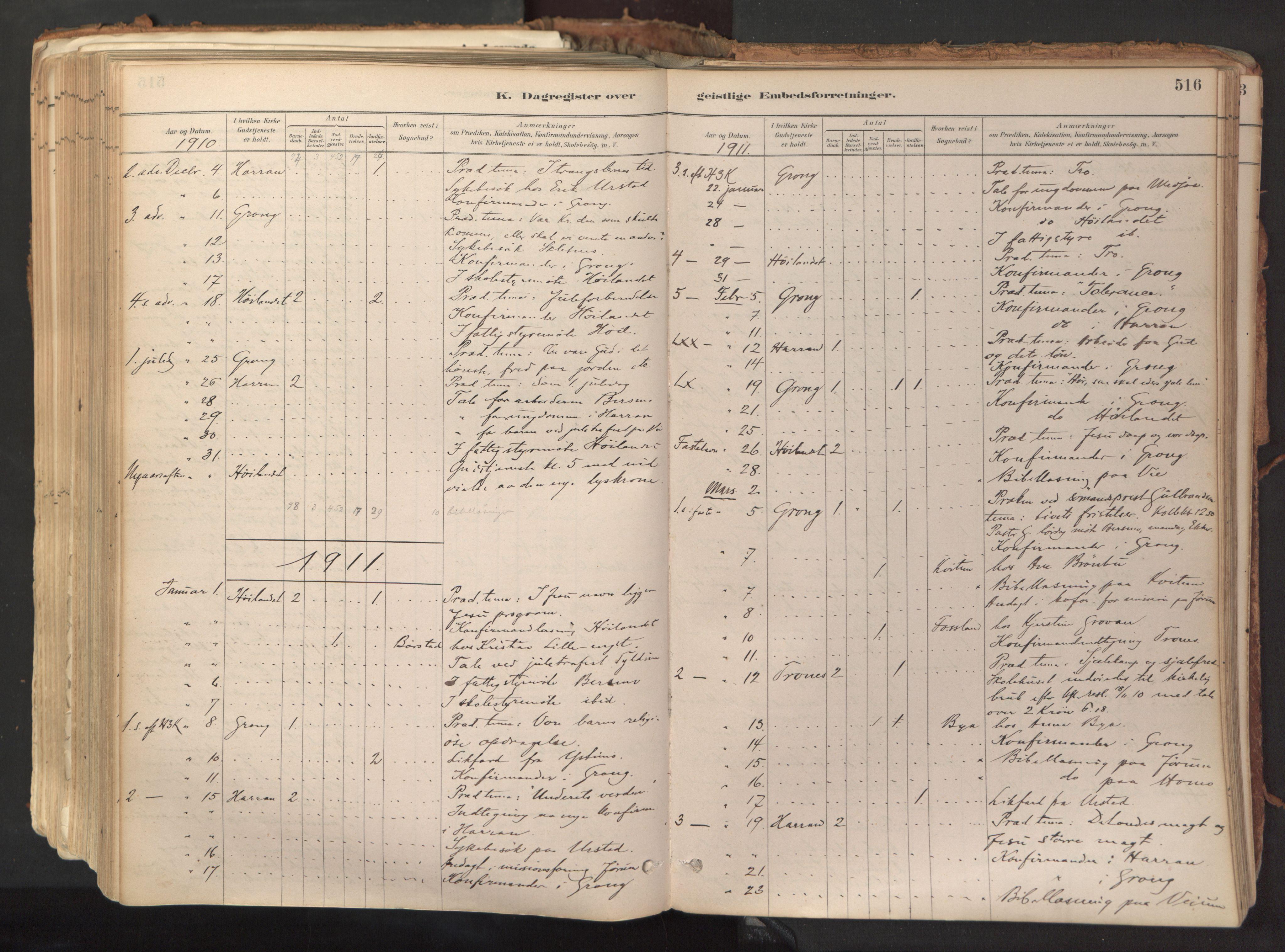 SAT, Ministerialprotokoller, klokkerbøker og fødselsregistre - Nord-Trøndelag, 758/L0519: Ministerialbok nr. 758A04, 1880-1926, s. 516