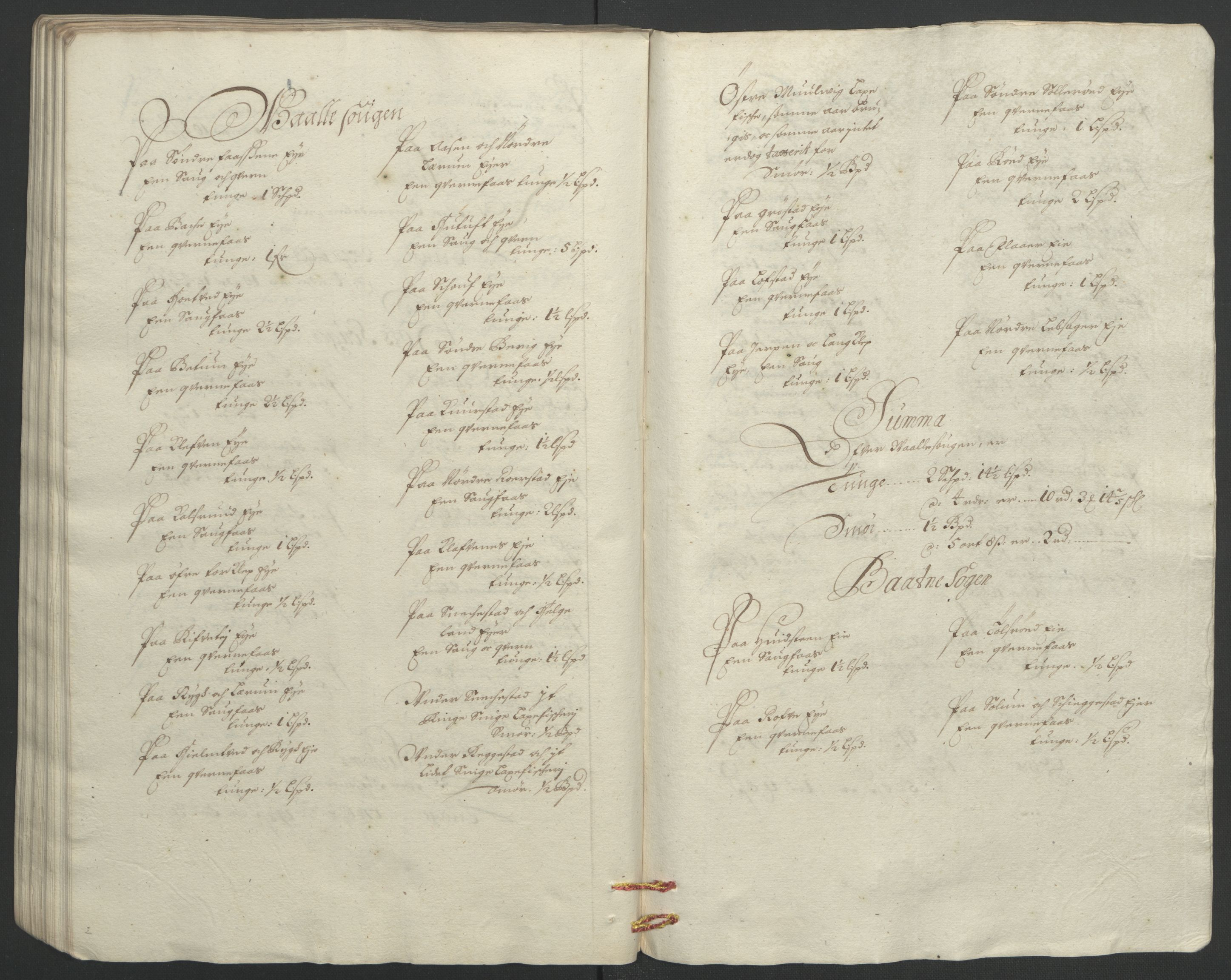 RA, Rentekammeret inntil 1814, Reviderte regnskaper, Fogderegnskap, R32/L1865: Fogderegnskap Jarlsberg grevskap, 1692, s. 90