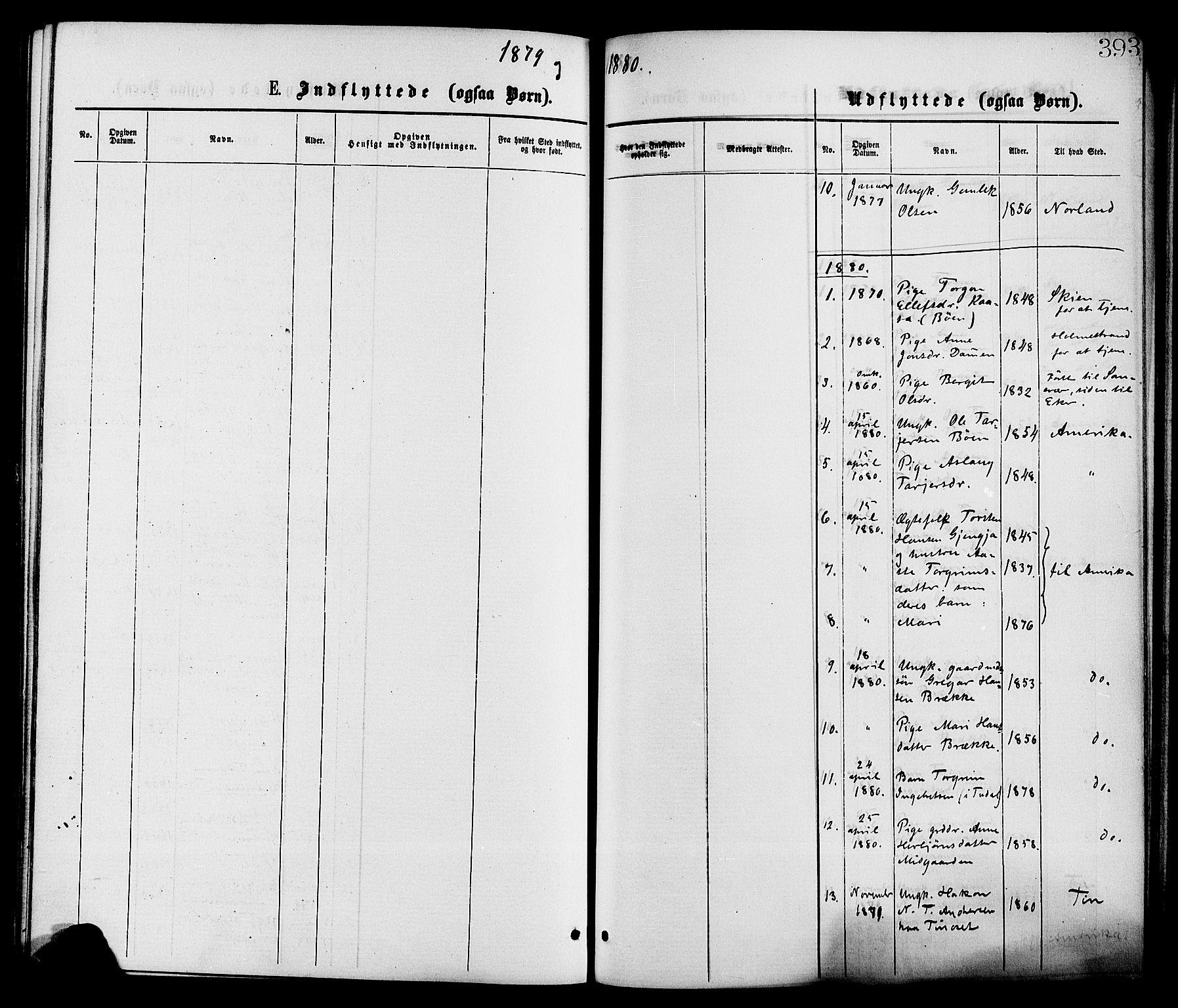 SAKO, Gransherad kirkebøker, F/Fa/L0004: Ministerialbok nr. I 4, 1871-1886, s. 393